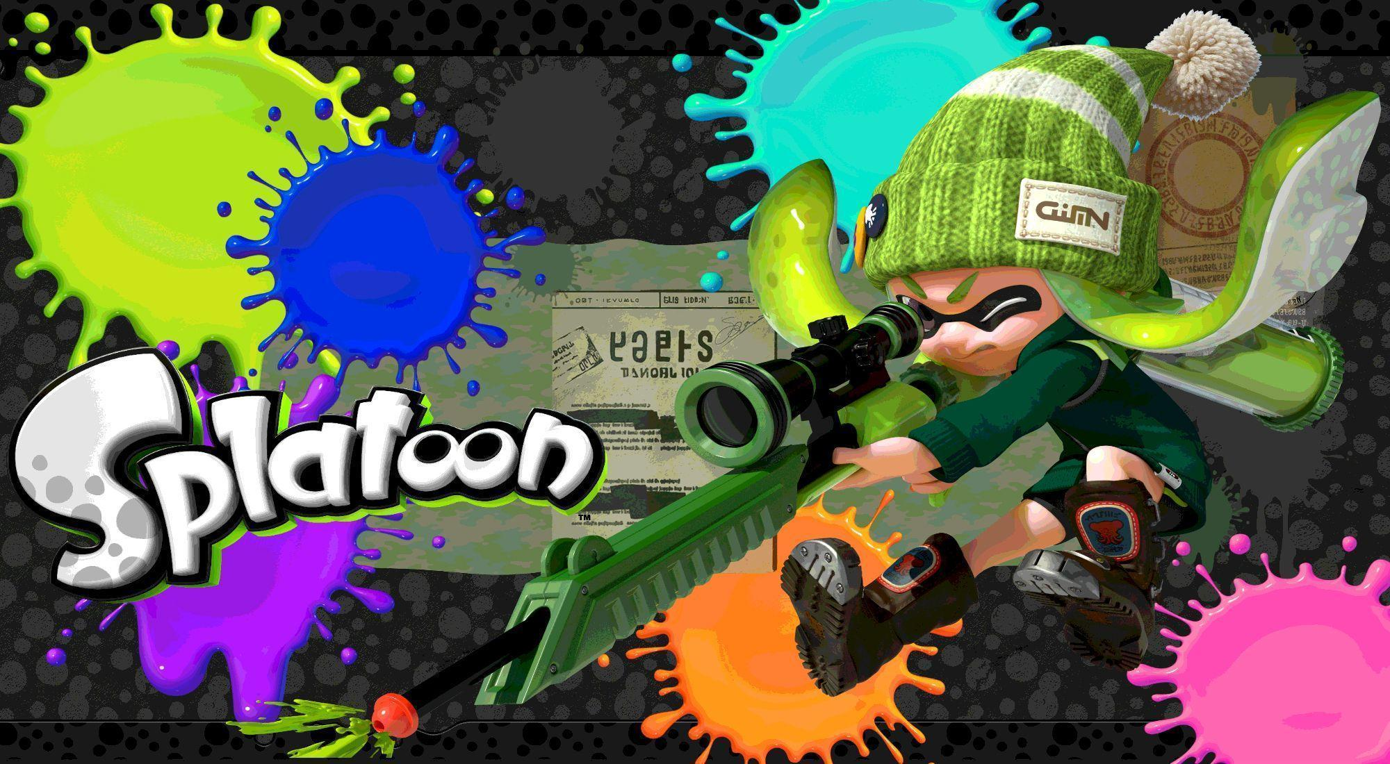 splatoon wallpaper by xxzicexx - photo #17