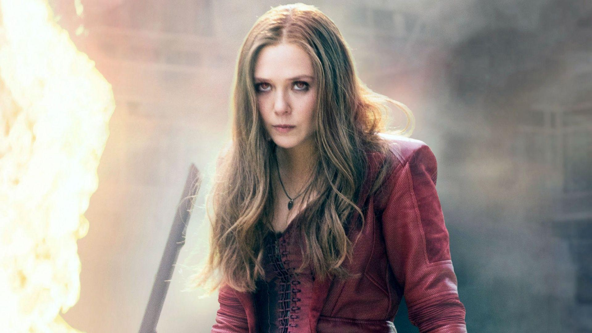 Captain America Civil War Scarlet Witch Wallpapers