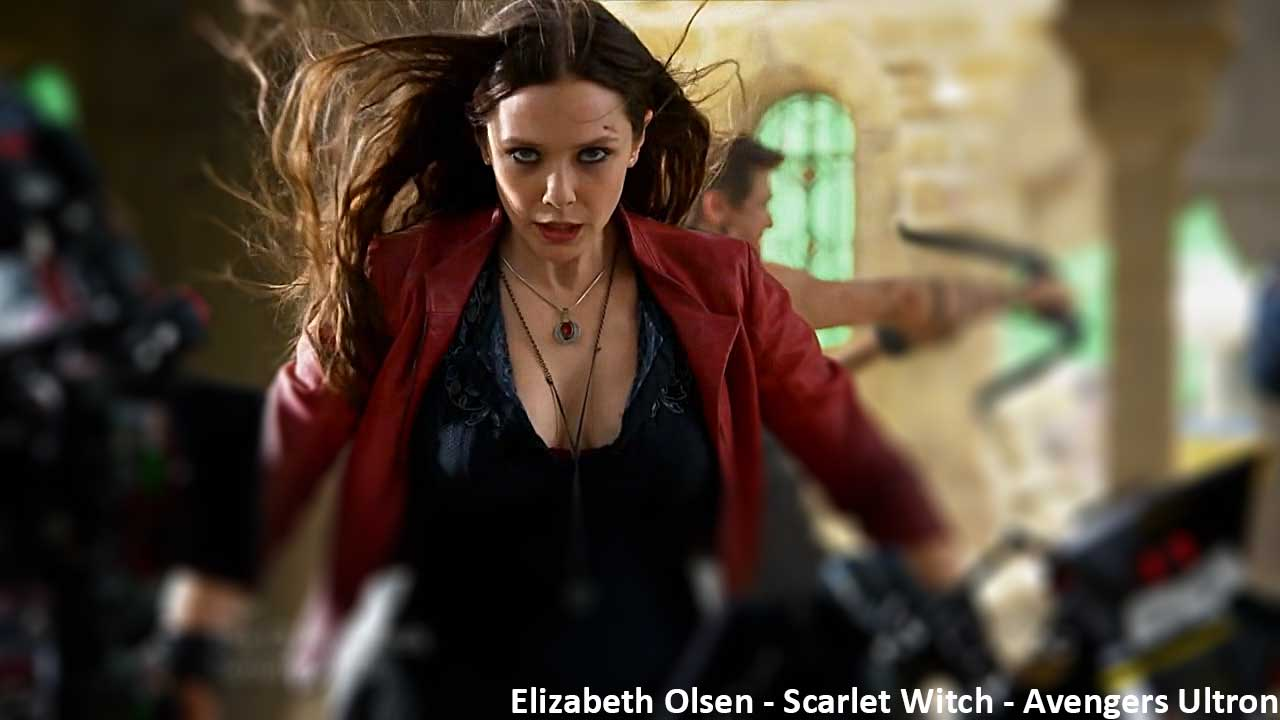 Elizabeth Olsen Scarlet Witch Wallpapers