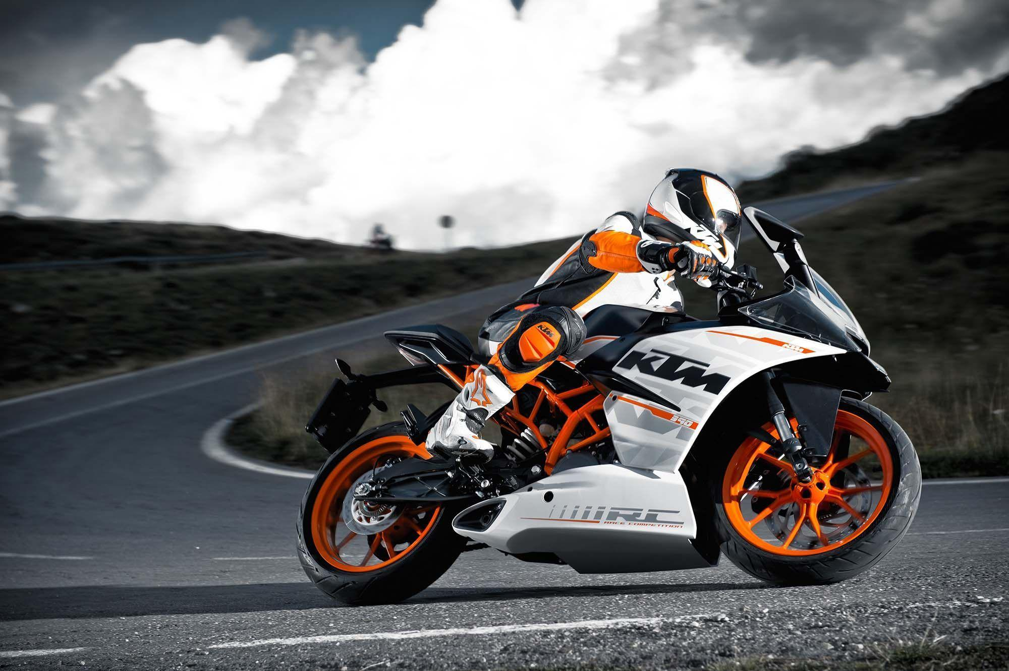 KTM RC390 High Resolution image / wallpapers