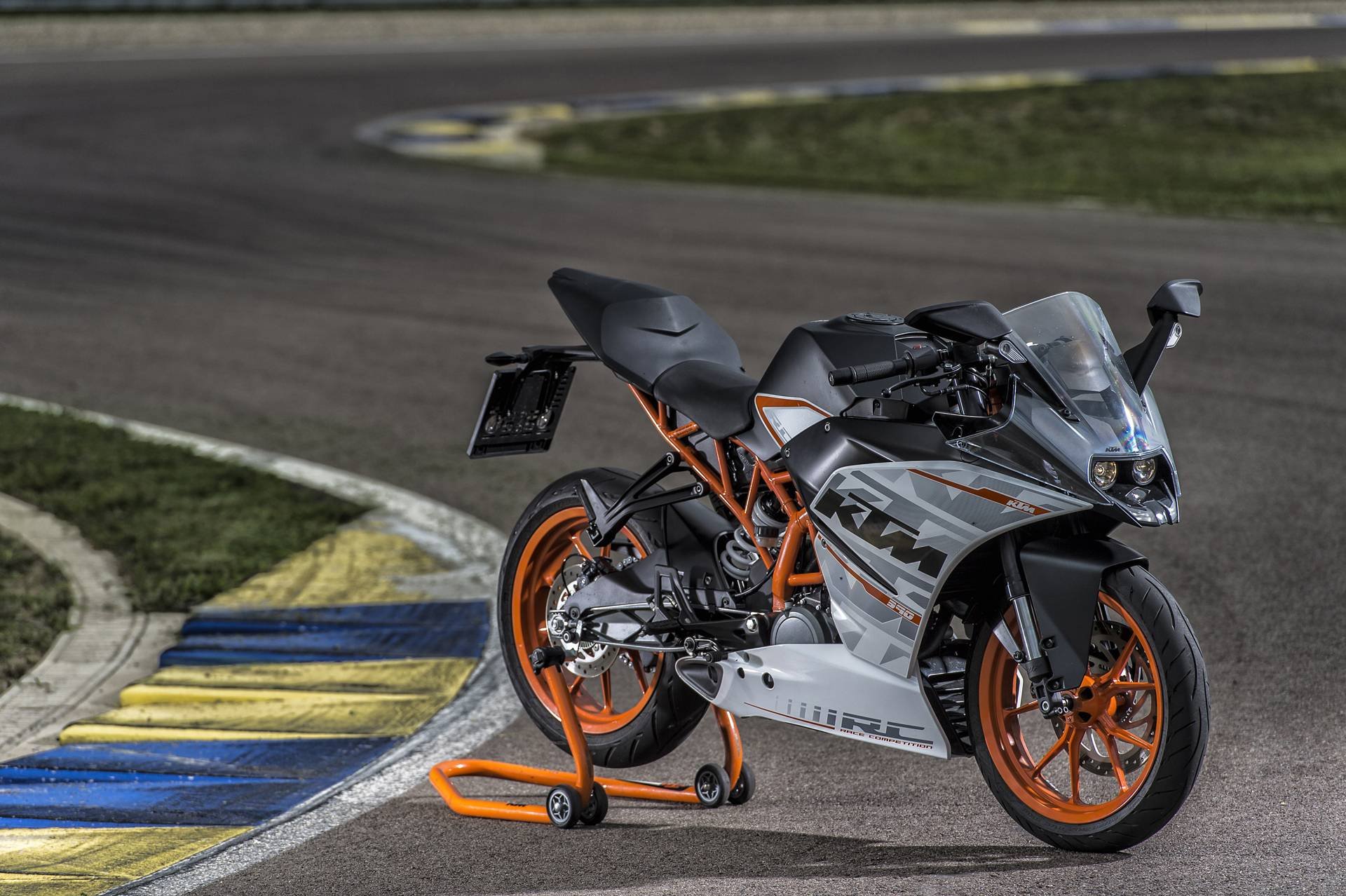2014 Motorcycle KTM RC 390 Wallpaper For PC #10005 Wallpaper .