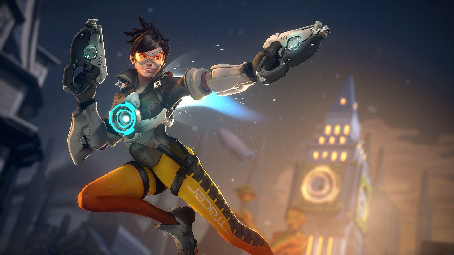 overwatch agent tracer wallpapers - photo #28