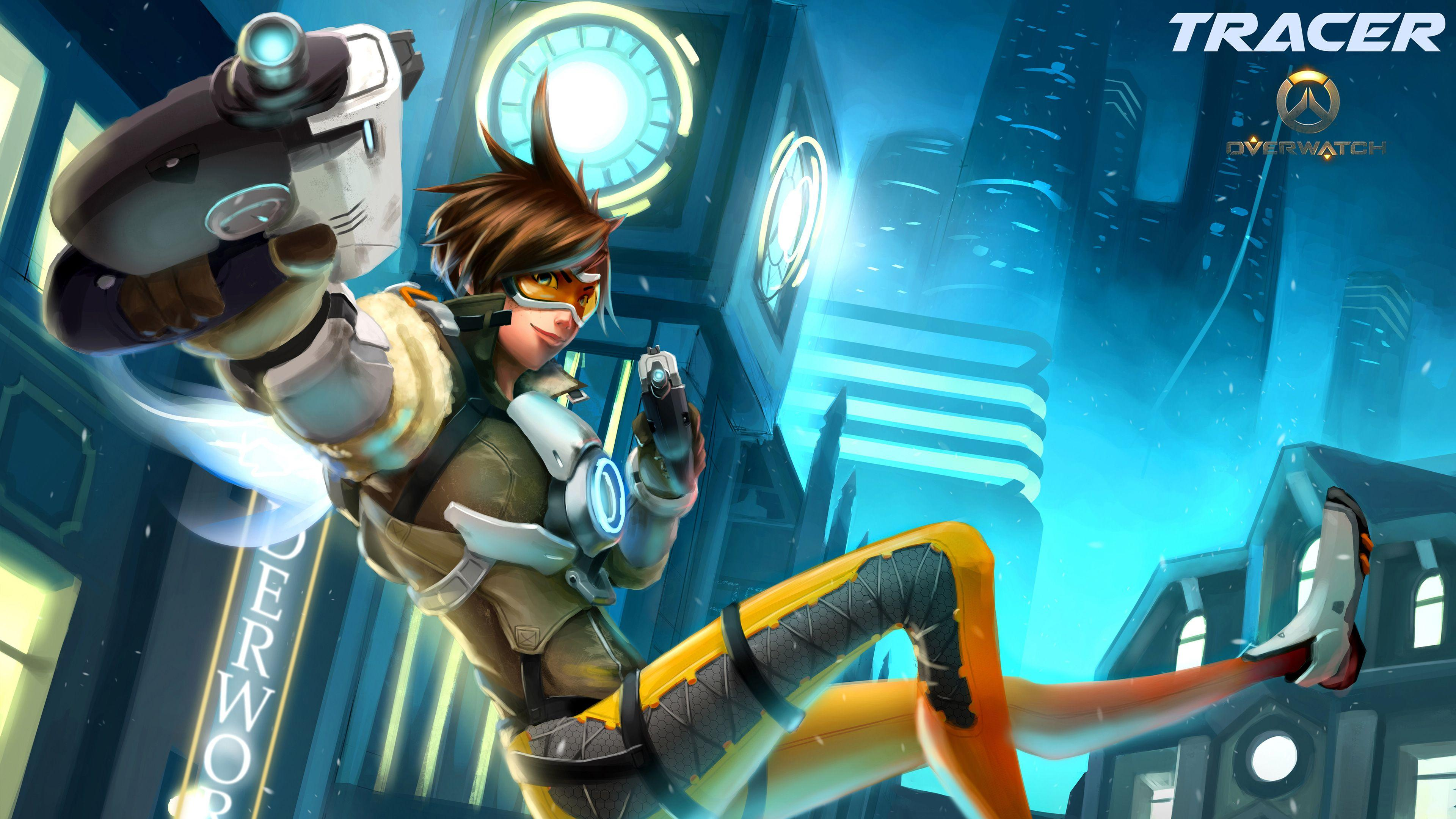 overwatch agent tracer wallpapers - photo #6