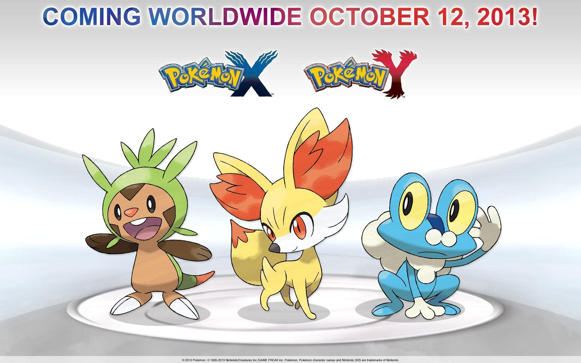 Pokemon X and Y HD Wallpapers and Backgrounds