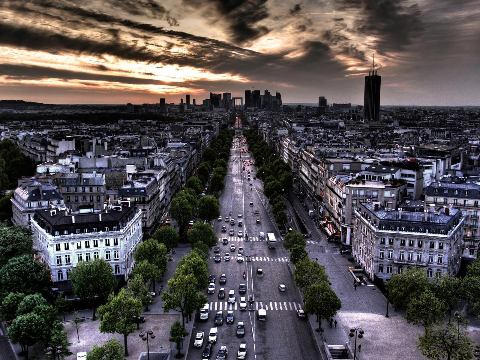 Champs Elysees, Paris, France wallpapers – wallpapers free download