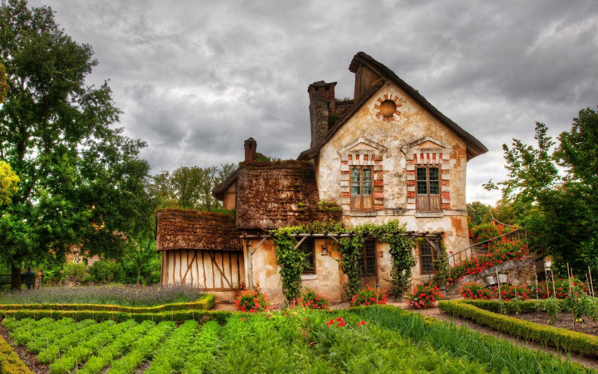 Tiny House in France widescreen wallpapers