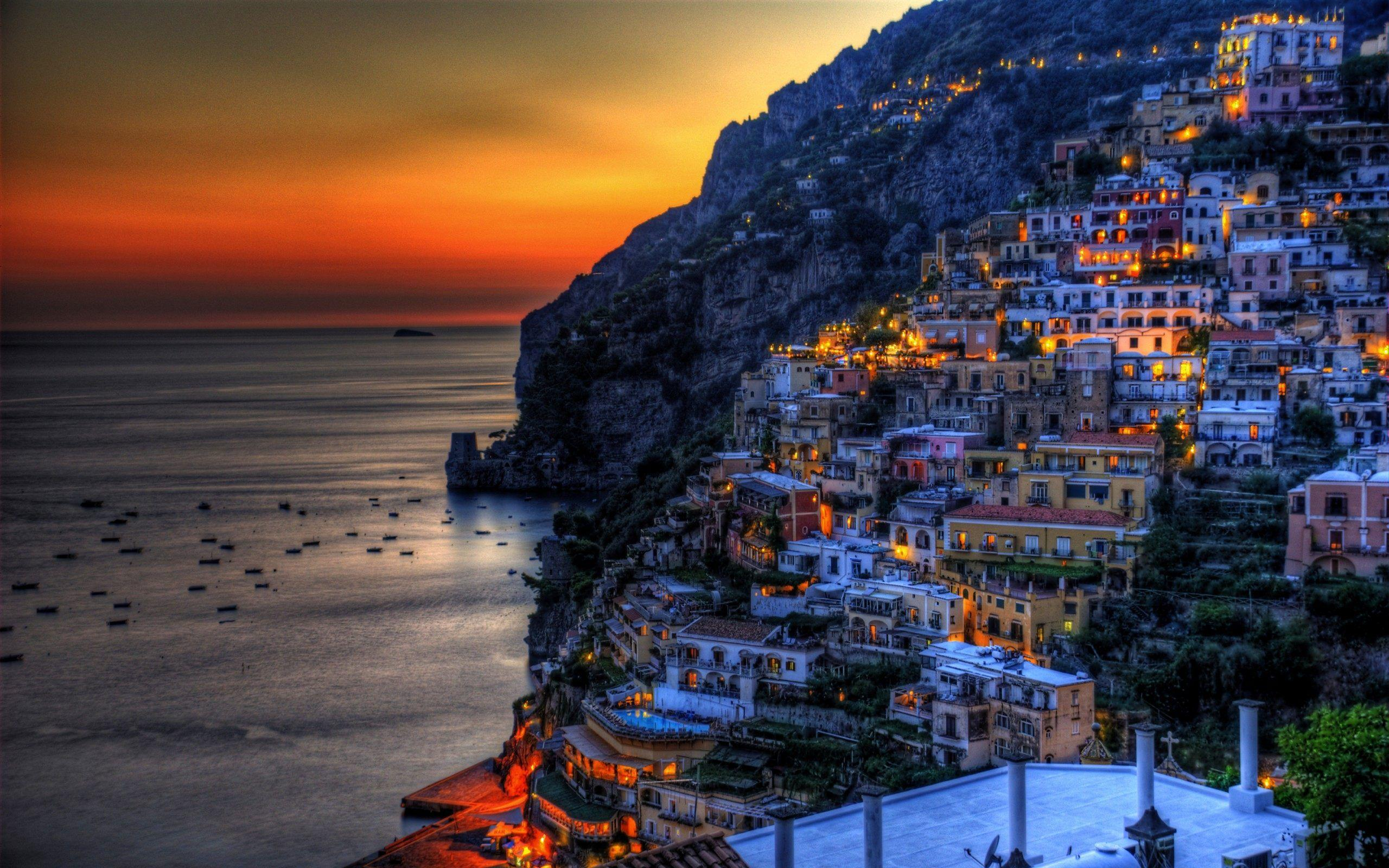 Amalfi Coast Italy Wallpapers HD For Desktop, PC and Mobile