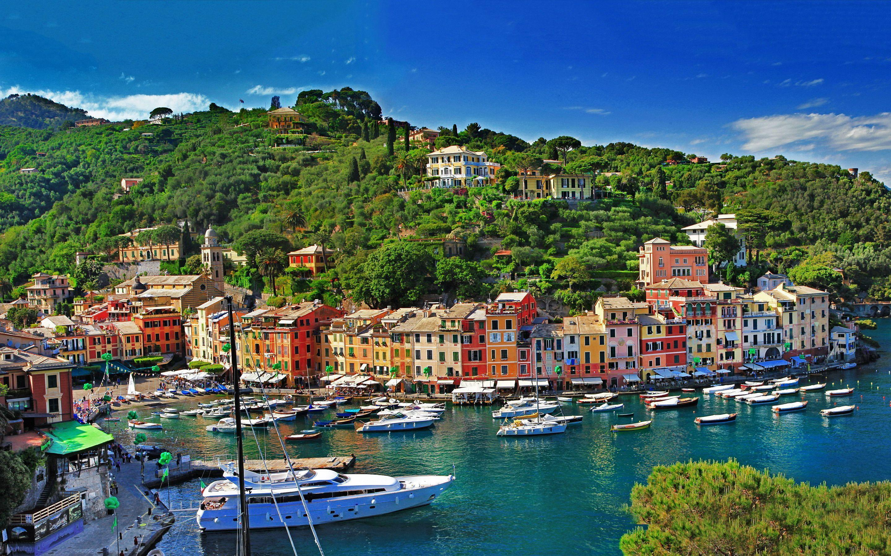 portofino italy Wallpapers