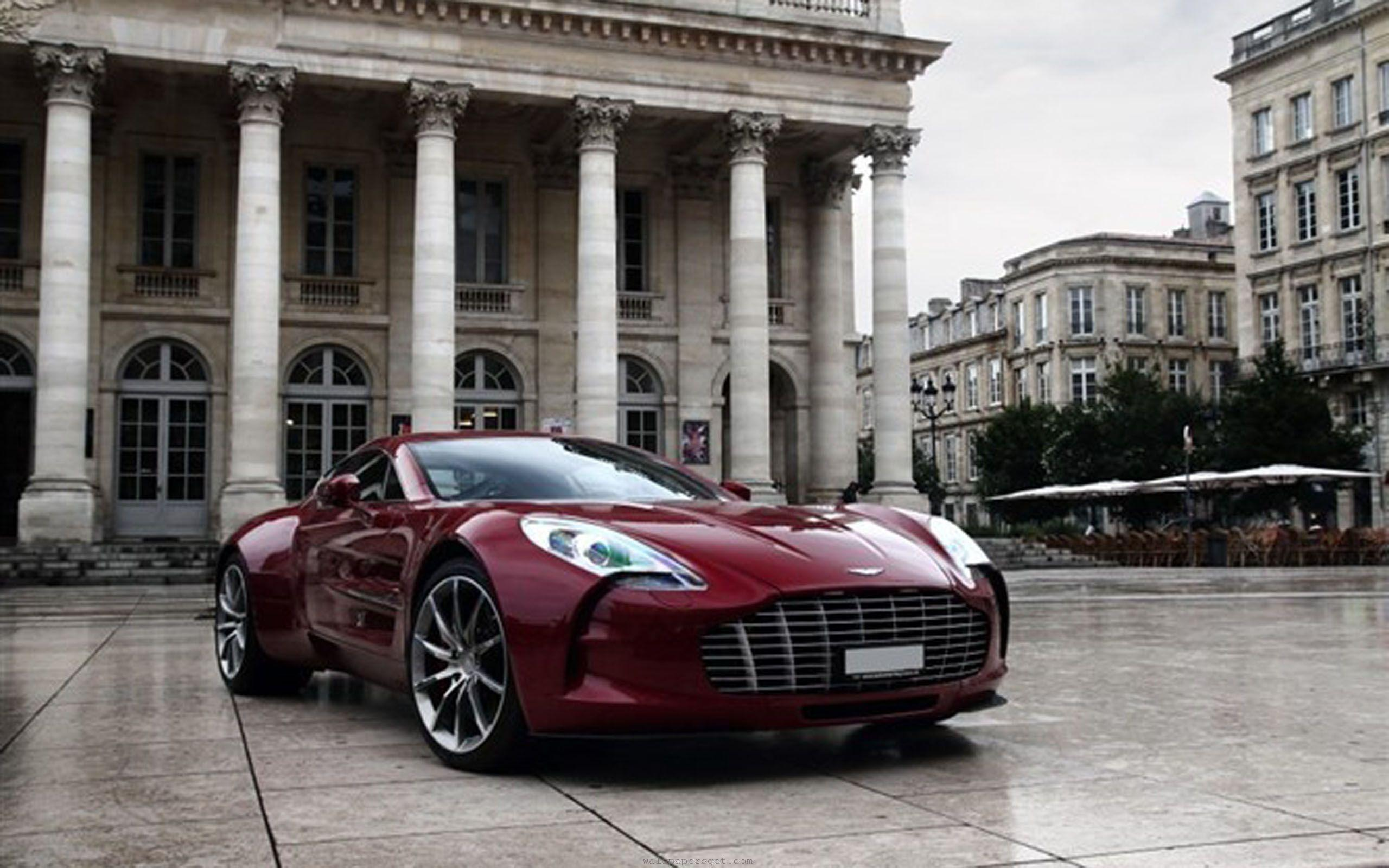 Aston Martin One-77 Red - wallpaper.