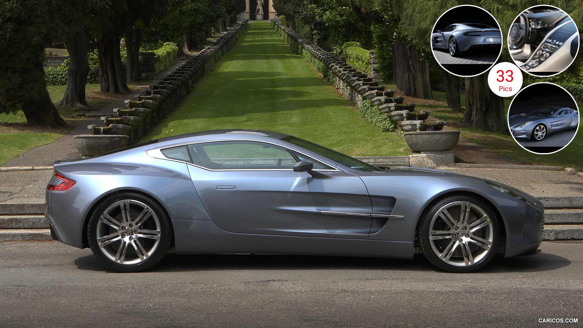 Aston Martin One-77 - Side View | HD Wallpaper #8