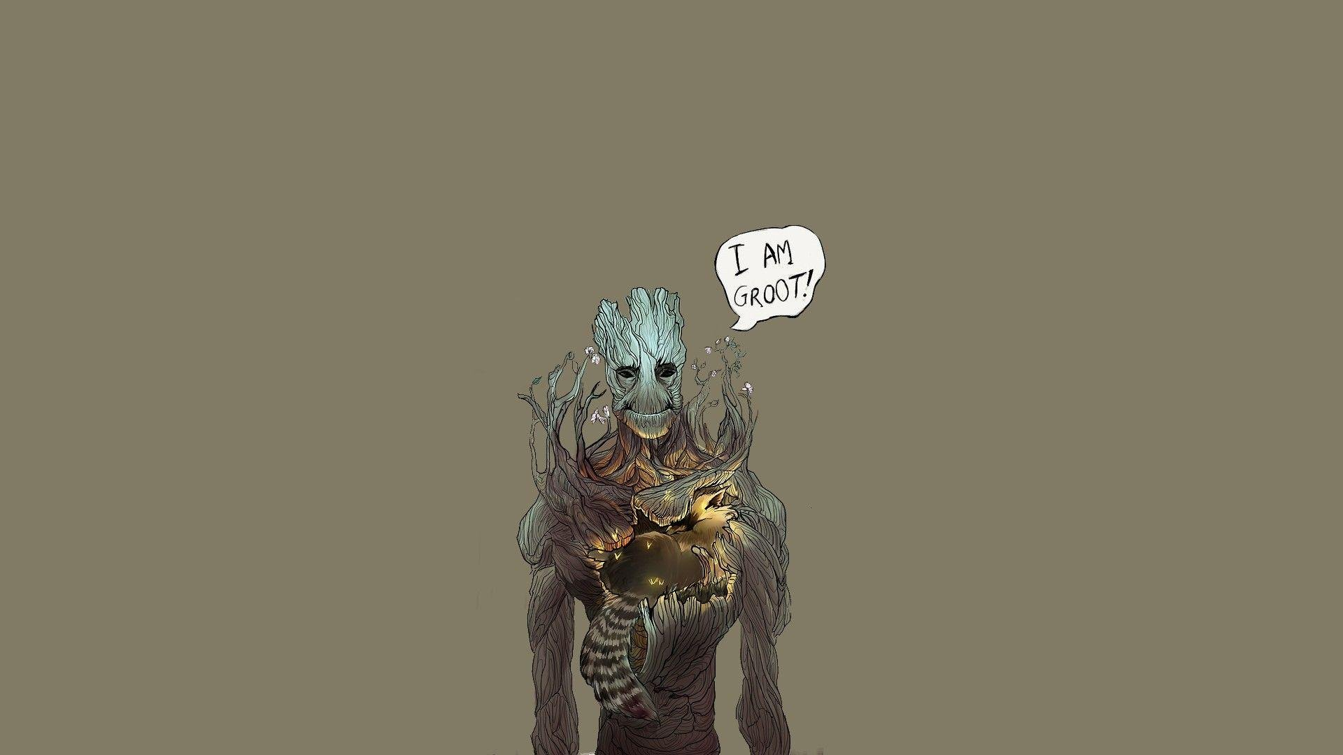 Groot, Guardians Of The Galaxy Wallpapers HD / Desktop and Mobile ...