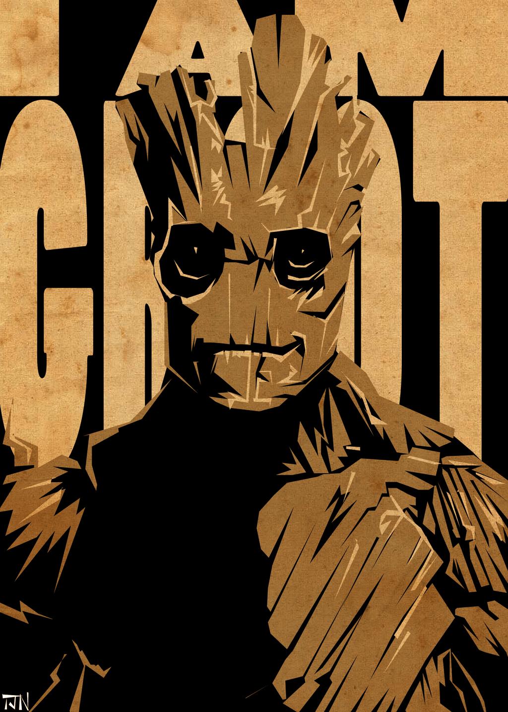Groot HD Wallpaper - WallpaperSafari