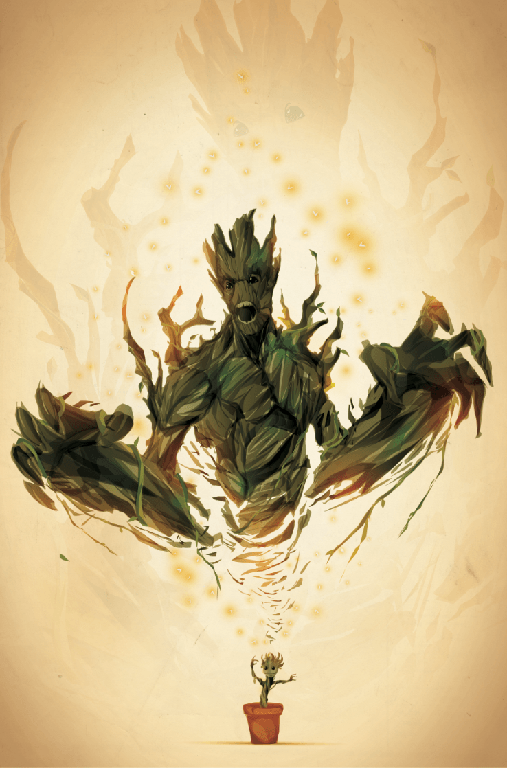 We are Groot Wallpaper - WallpaperSafari