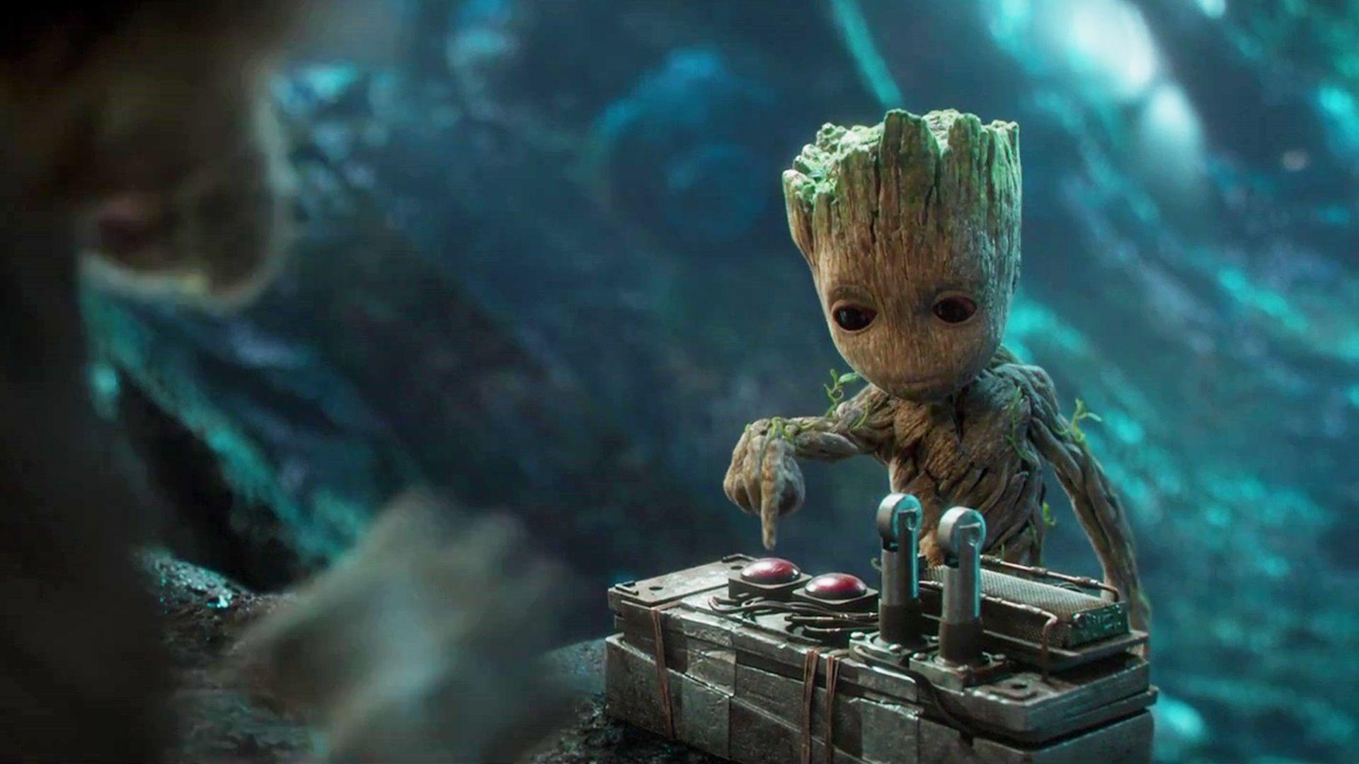 Guardians Of The Galaxy Vol. 2 Baby Groot Wallpaper 11625 - Baltana