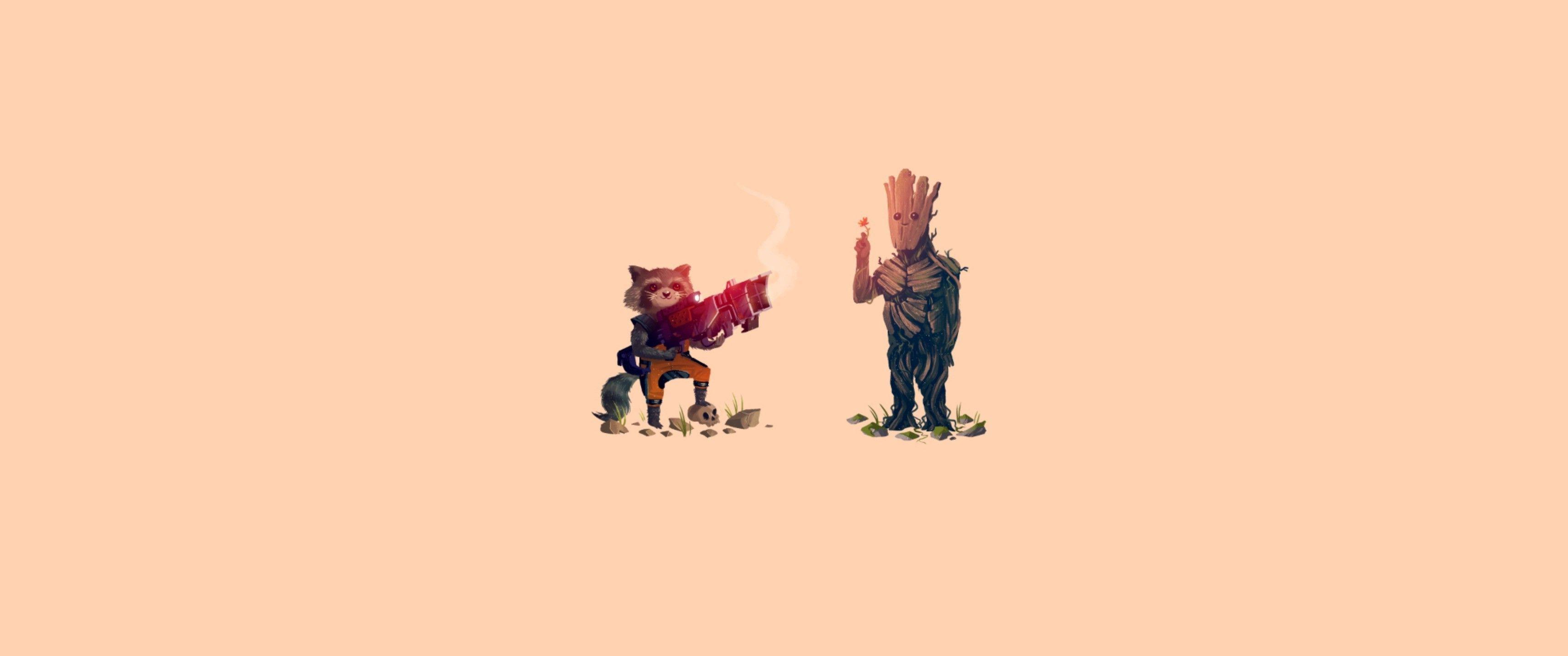Guardians Of The Galaxy, Groot, Rocket Raccoon Wallpapers HD ...