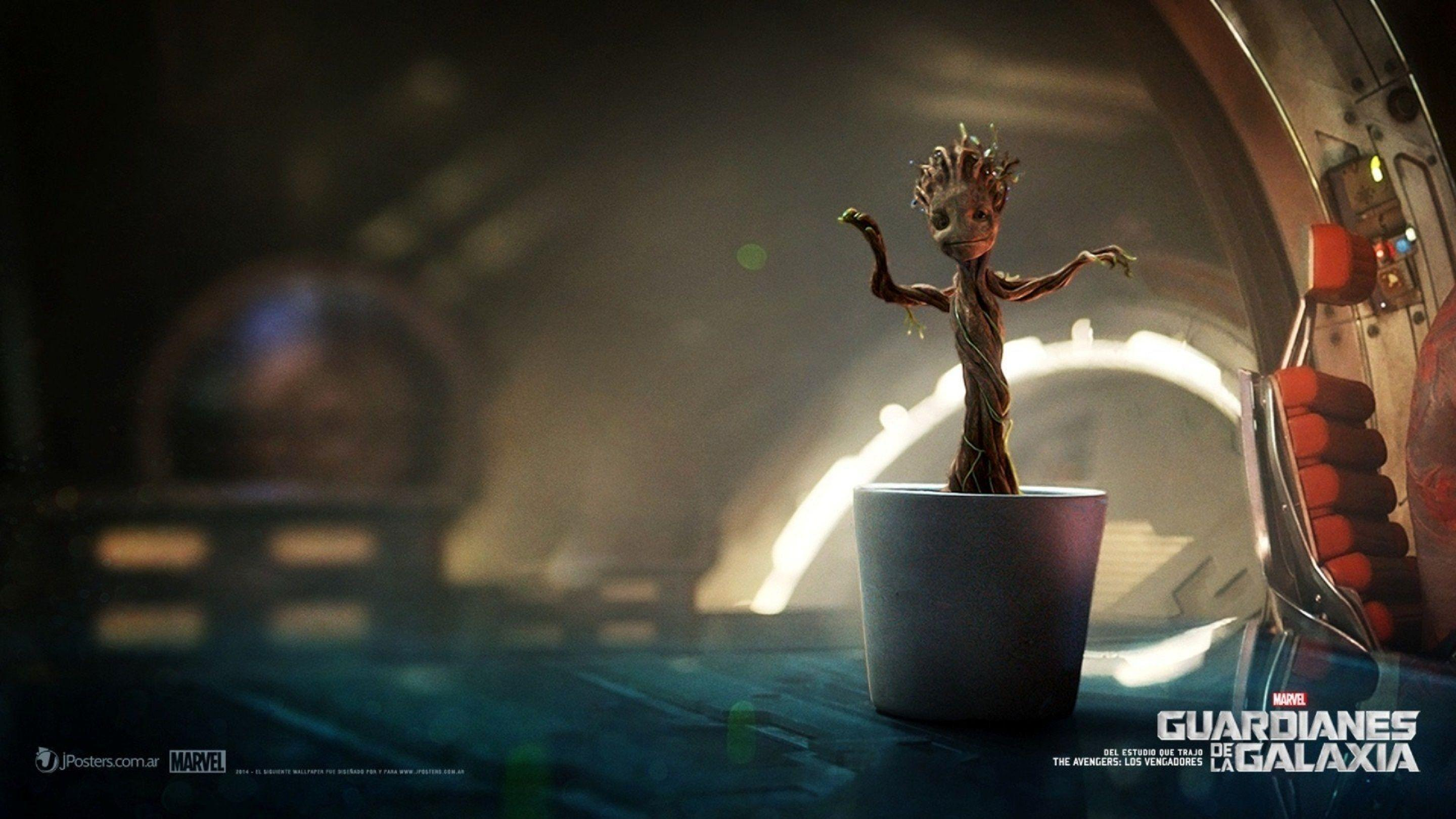 Guardians Of The Galaxy Baby Groot Wallpaper | HD Wallpapers (High ...