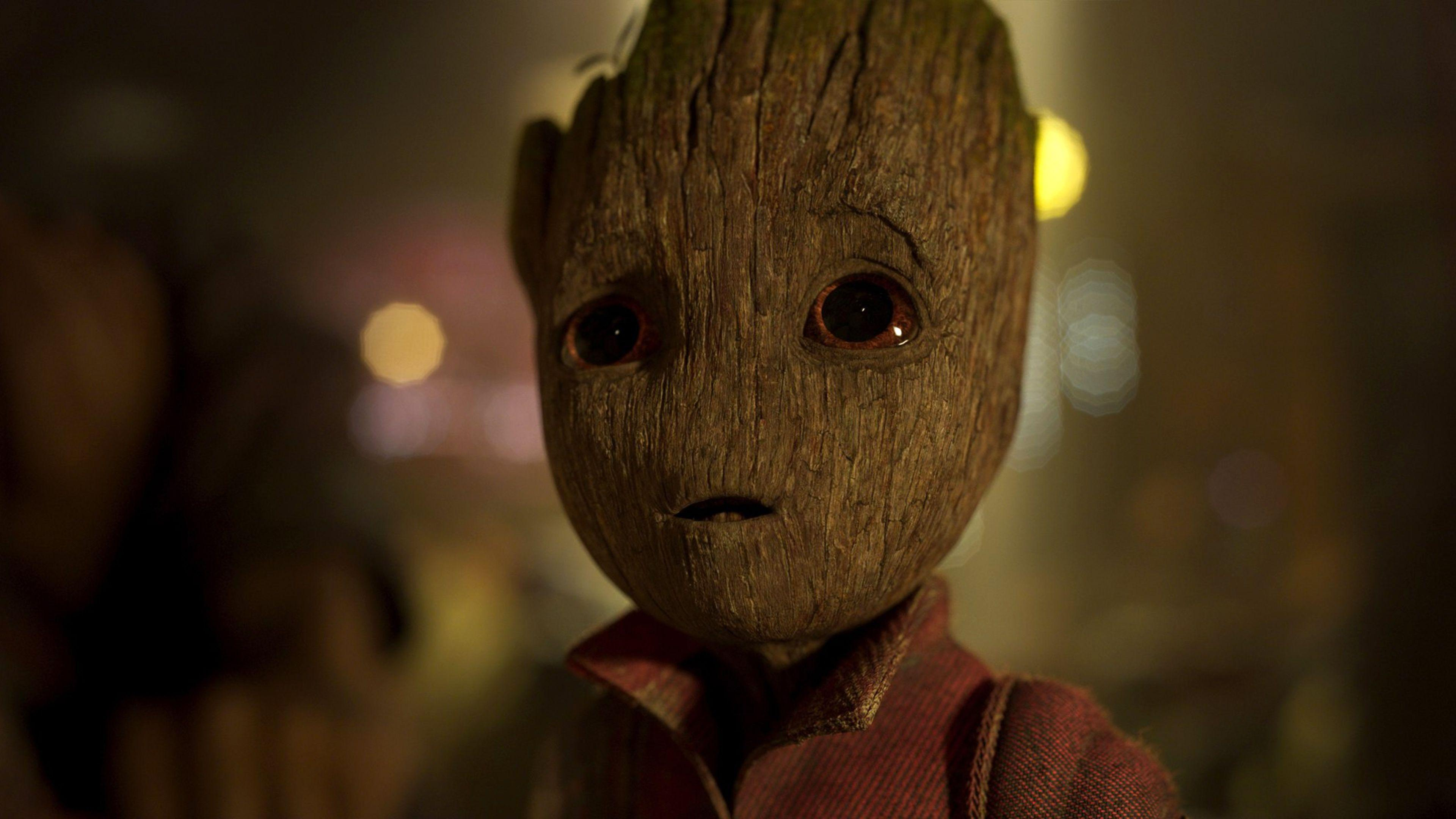 Baby Groot Guardians Of The Galaxy Vol 2 4K Wallpapers | HD Wallpapers