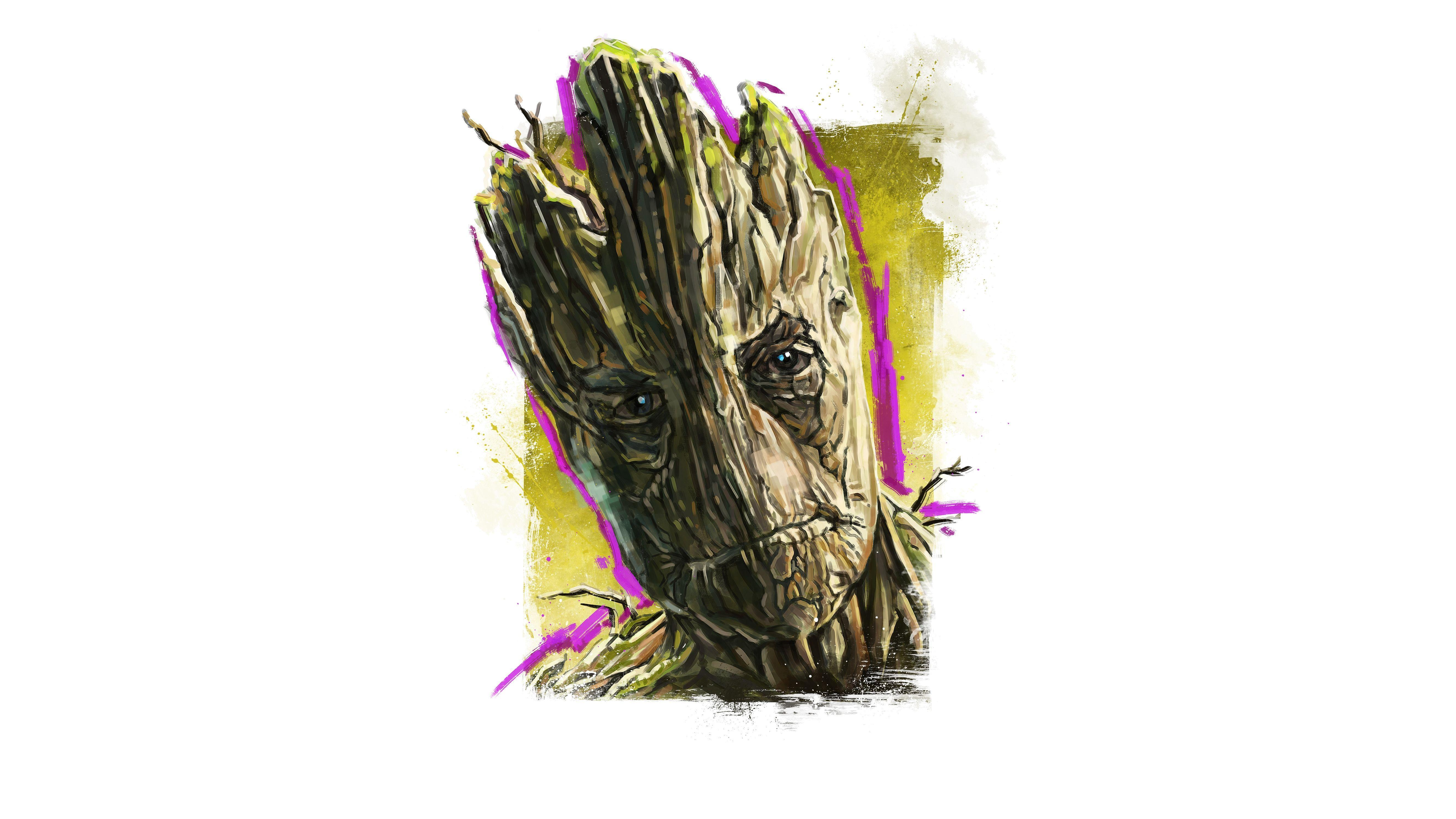 Groot Computer Wallpapers, Desktop Backgrounds | 5300x2981 | ID:515498