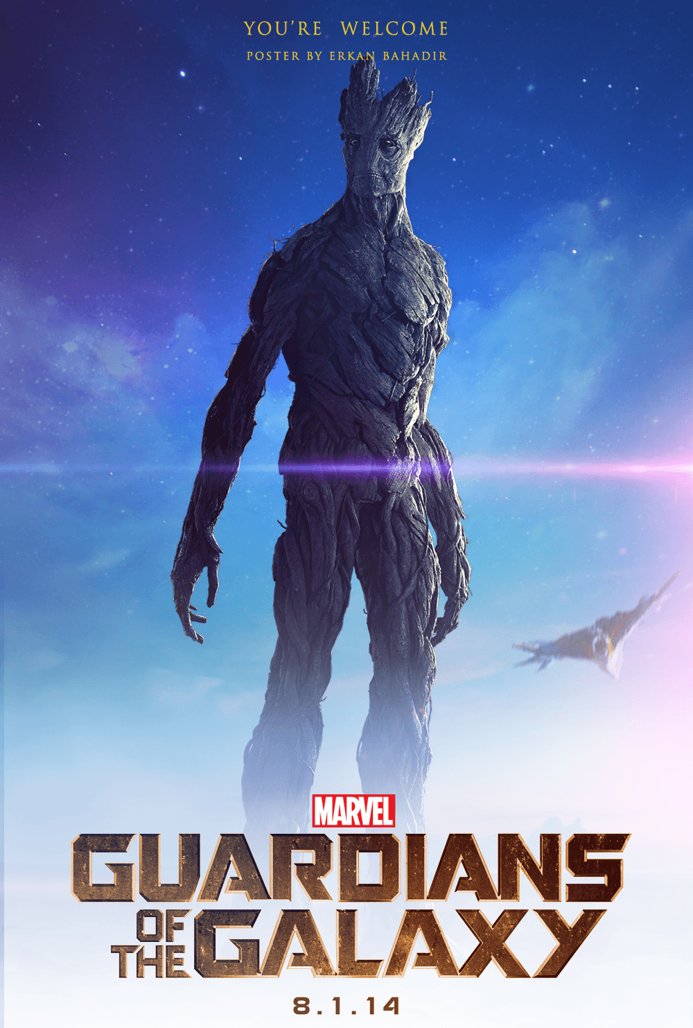 Guardians of the Galaxy: Groot Poster by erkanbahadir23 on DeviantArt