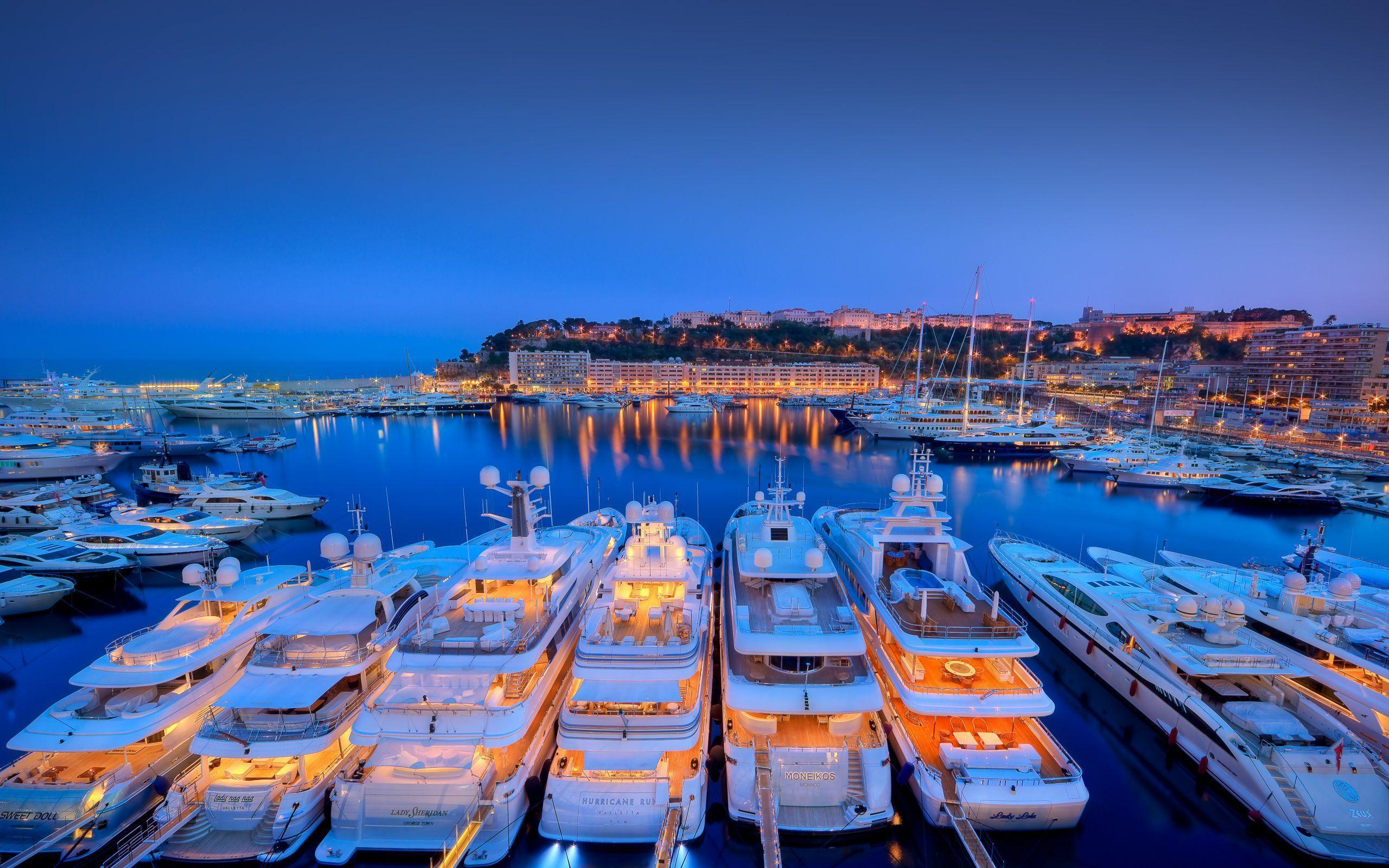 2560x1600 Port, Monaco, Yachts Wallpapers and Pictures, Photos