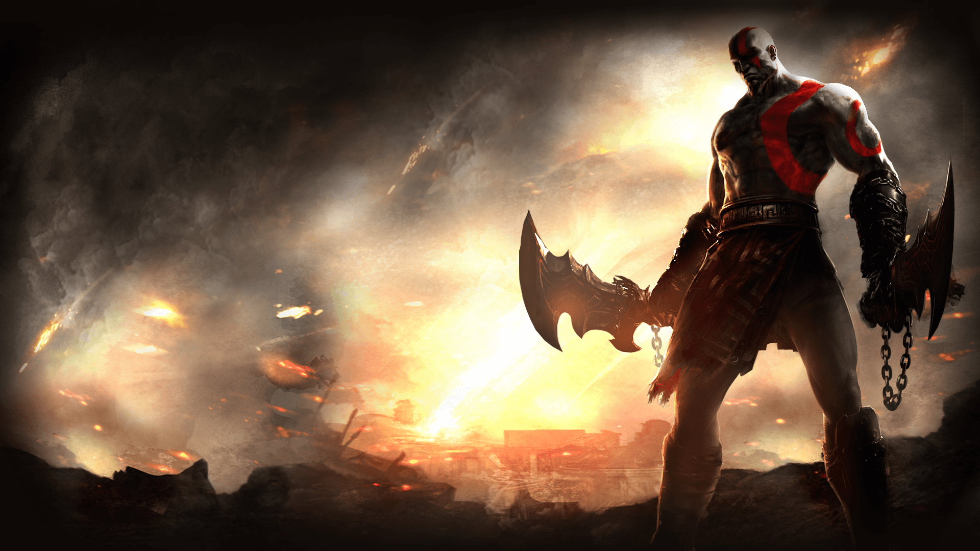 54 God Of War HD Wallpapers