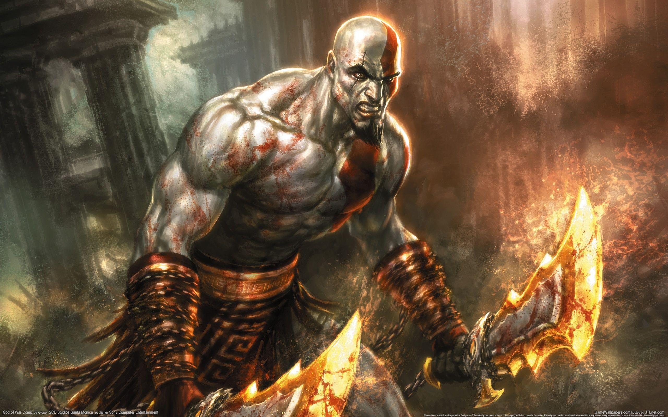 54 God Of War HD Wallpapers | Backgrounds - Wallpaper Abyss