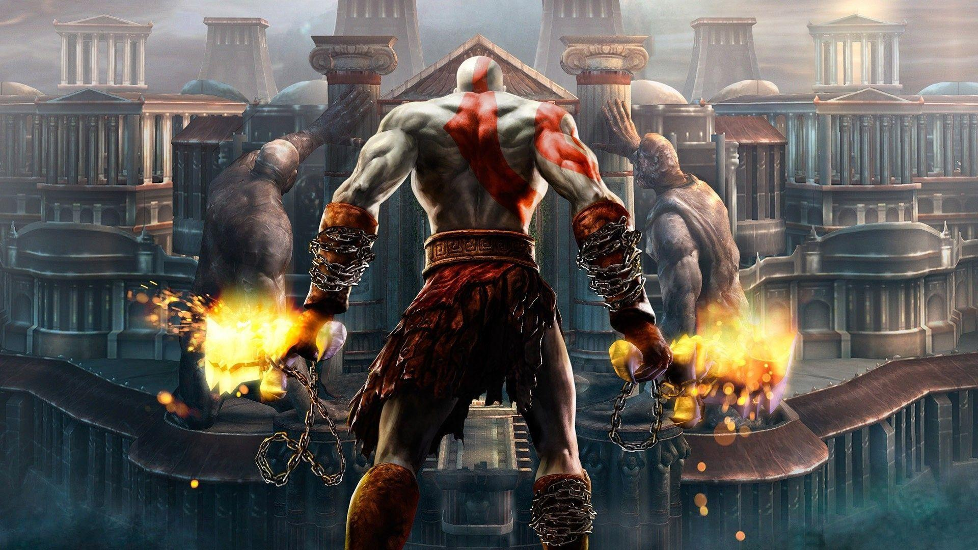 god of war wallpapers