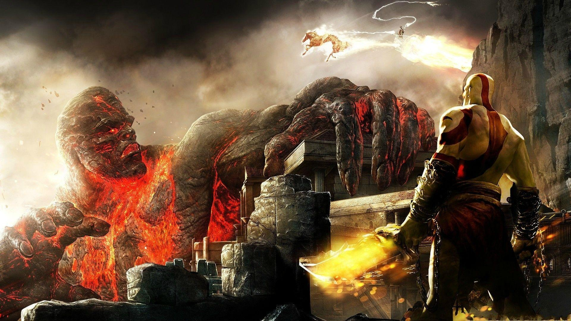 God Of War Computer Wallpapers, Desktop Backgrounds | 1920x1080 ...