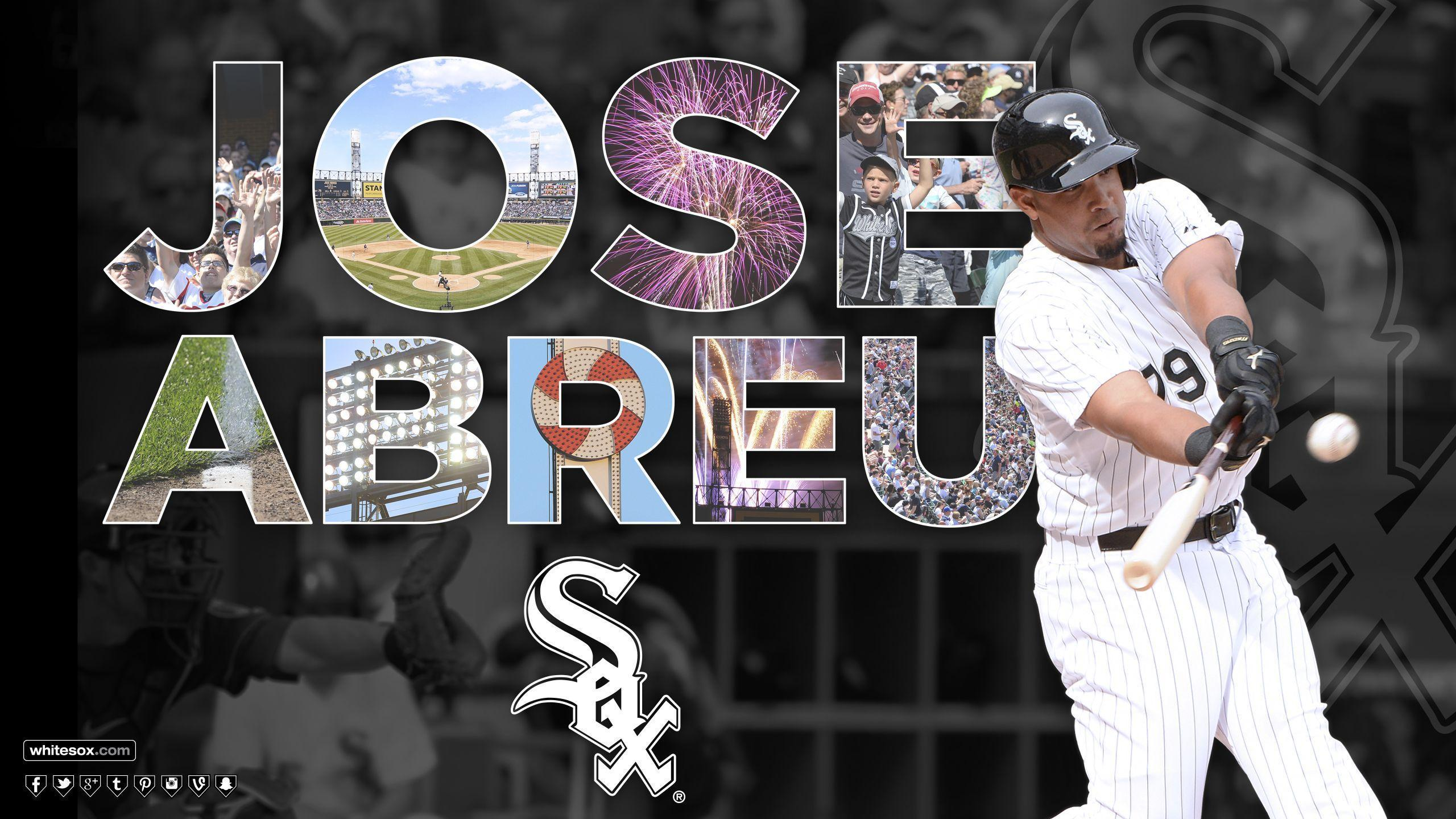 MLB Chicago White Sox Jose Abreu wallpapers HD 2016 in Baseball
