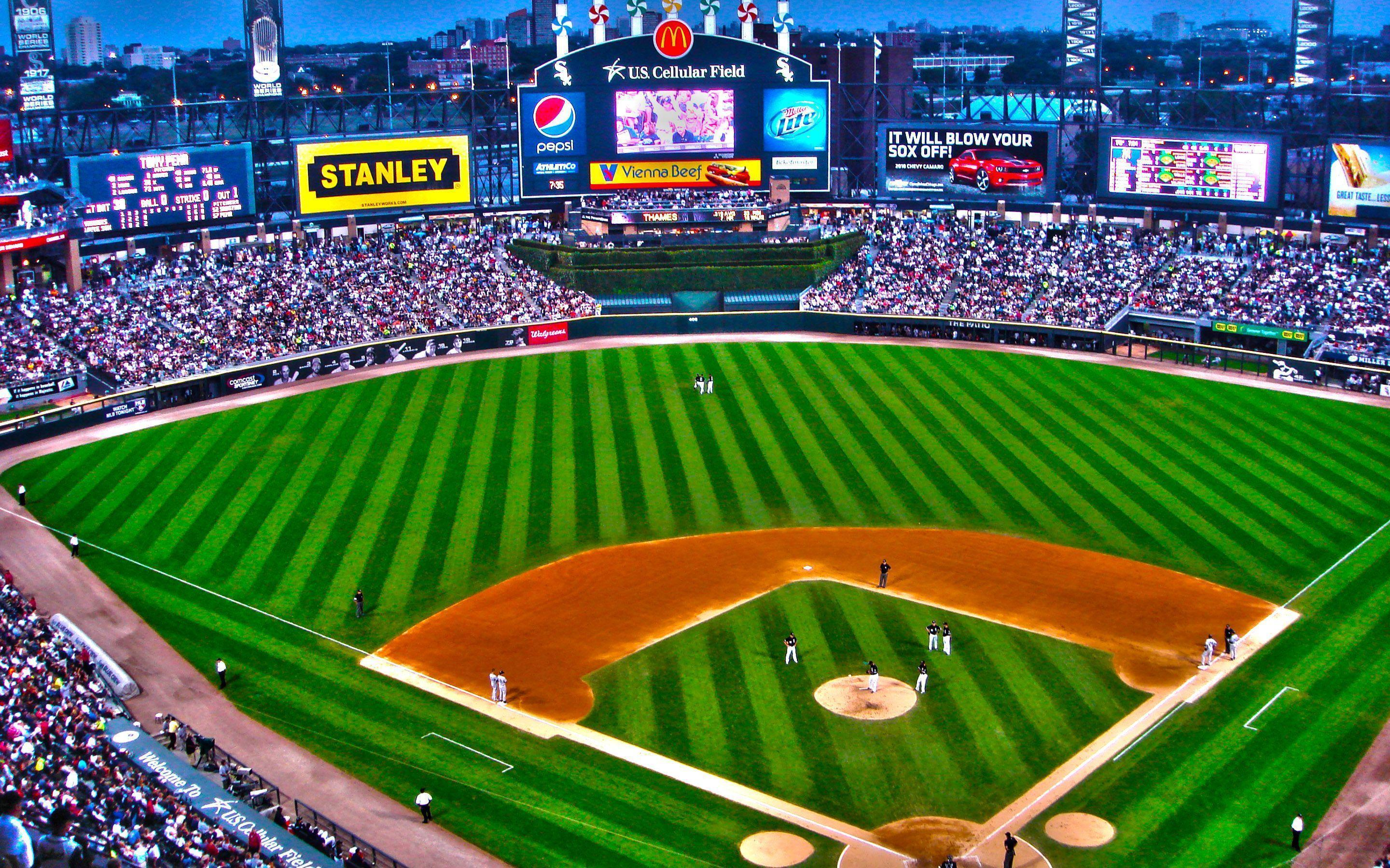 Chicago White Sox Ballpark U.S. Cellular HD Wallpapers
