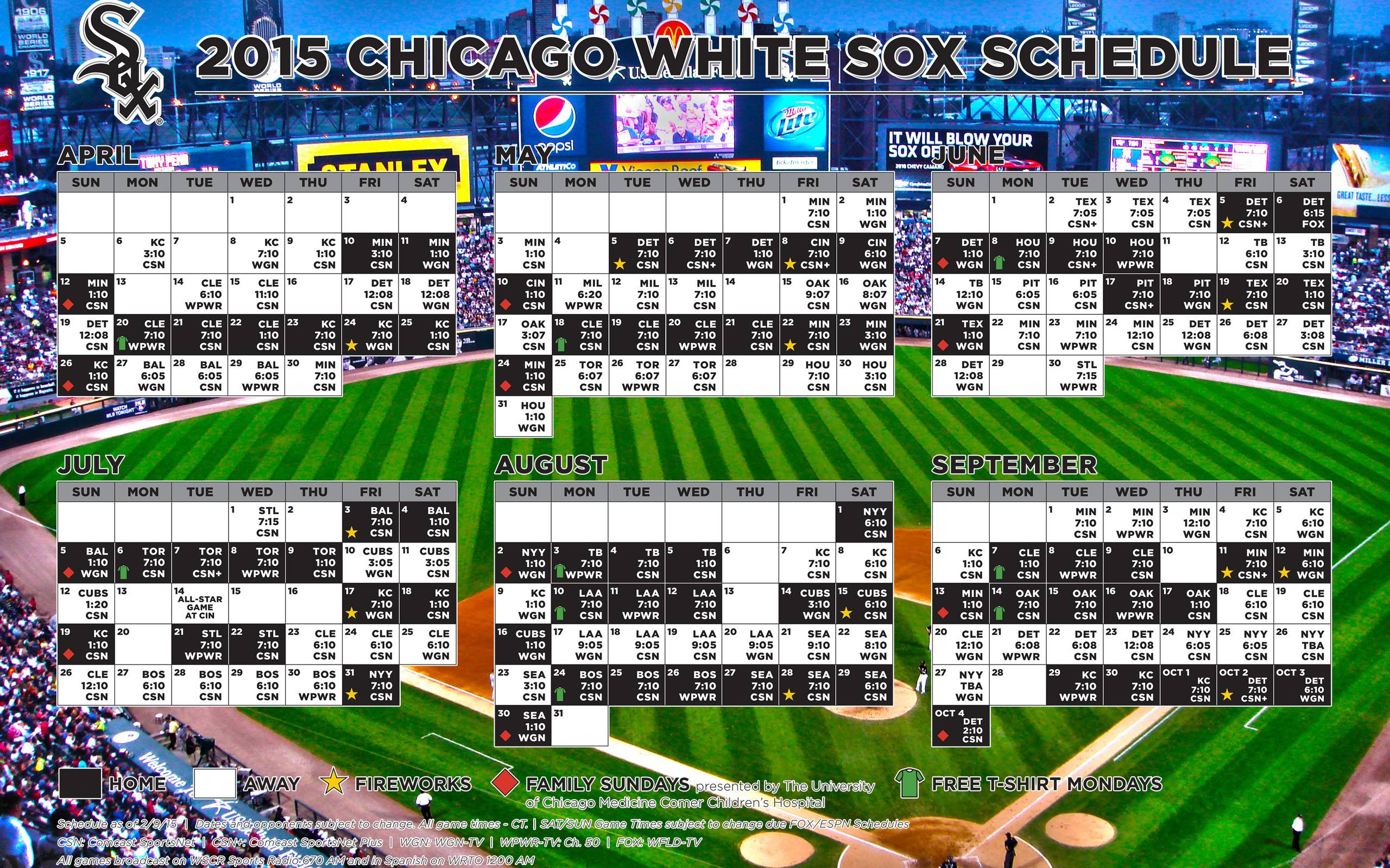 Chicago White Sox wallpapers HD backgrounds download desktop