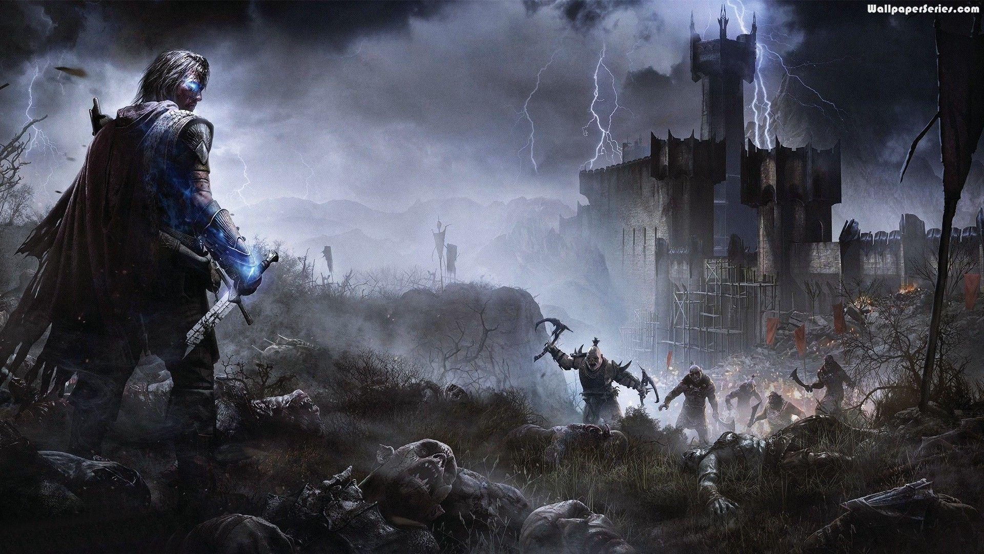 middleearth shadow of mordor wallpapers wallpaper cave