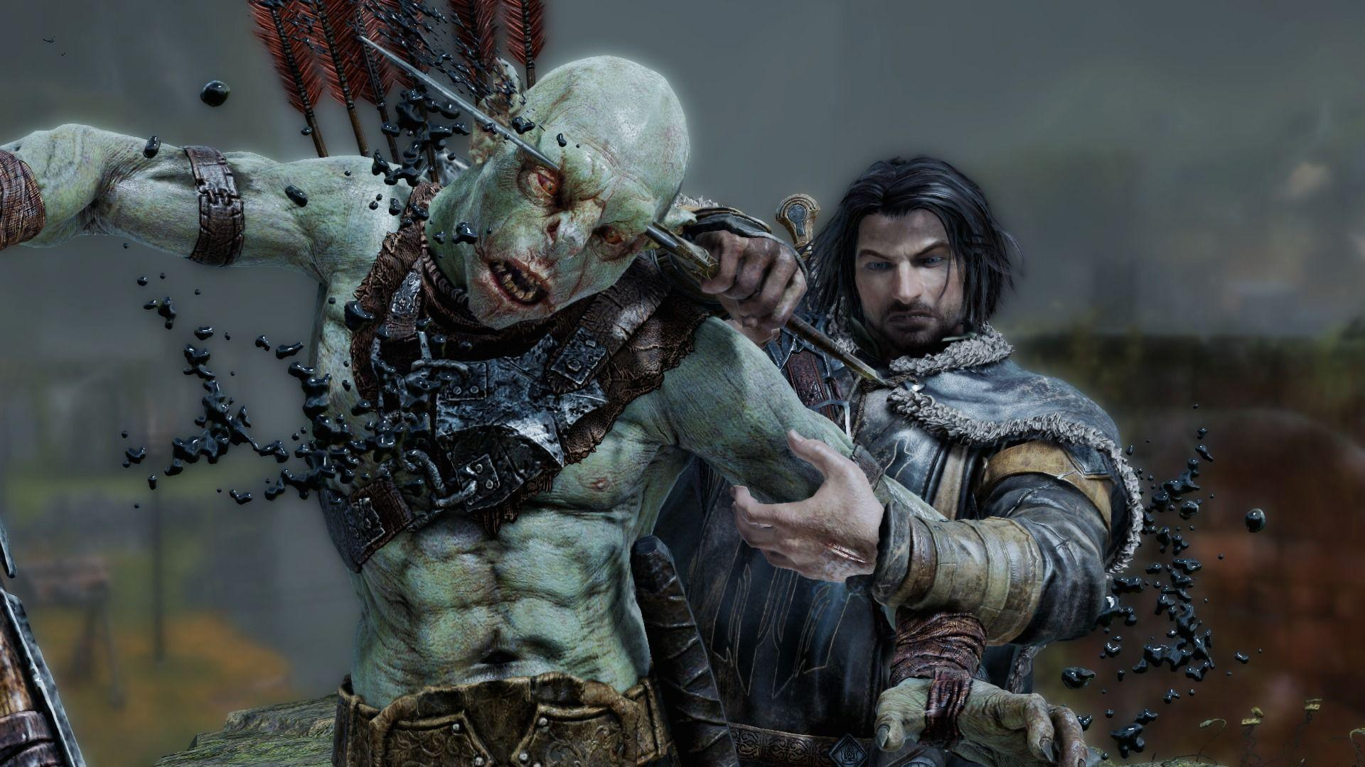 Middle Earth Shadow Of Mordor Wallpapers Wallpaper Cave