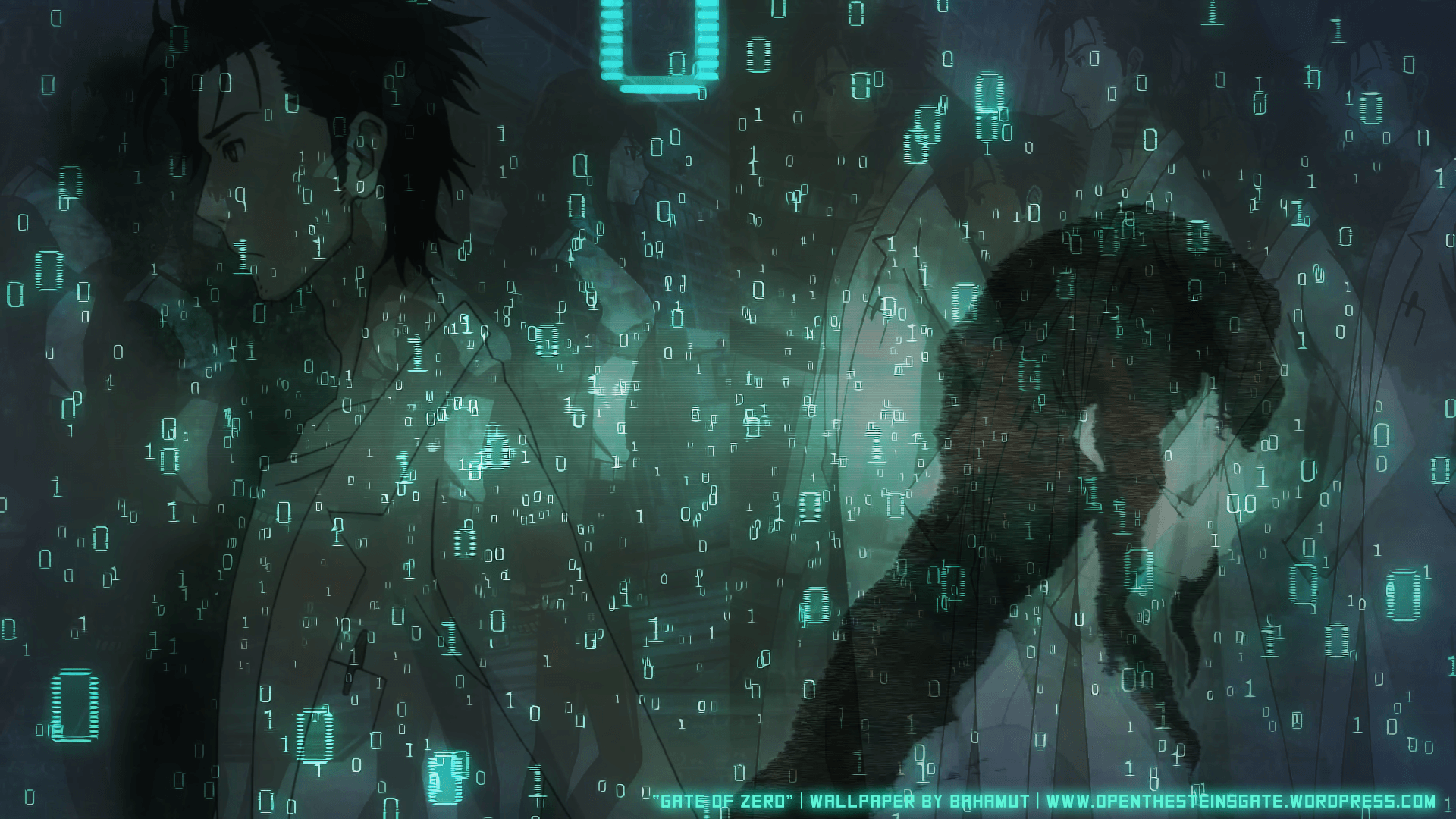"Gate of Zero"" a wallpapers that I made inspired by the Steins;Gate"
