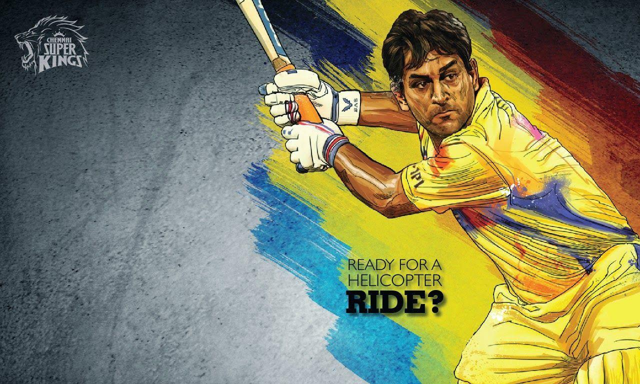 Wallpapers Csk Dhoni: MS Dhoni Wallpapers