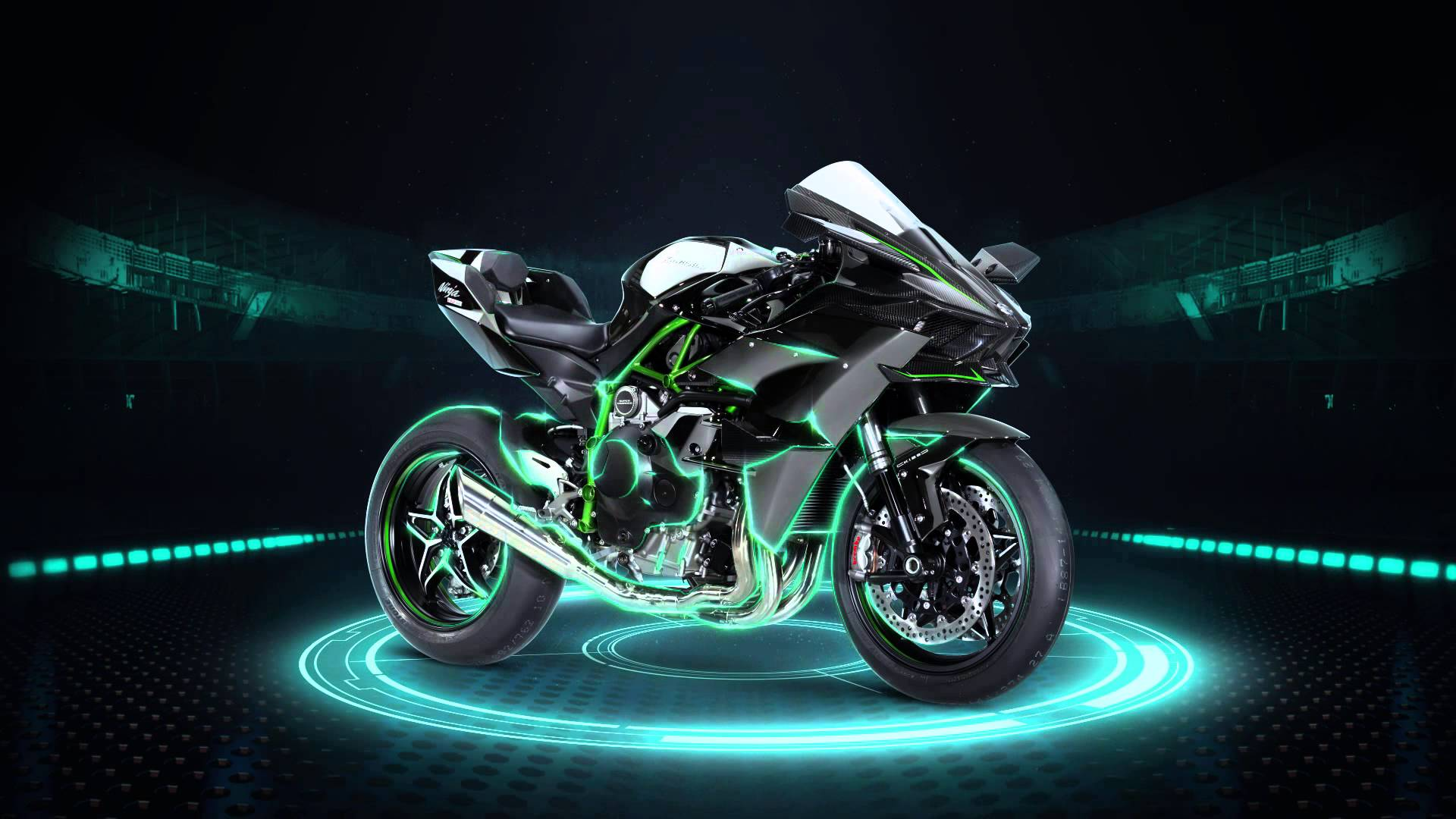 Kawasaki Ninja H2R Moto HD Wallpaper
