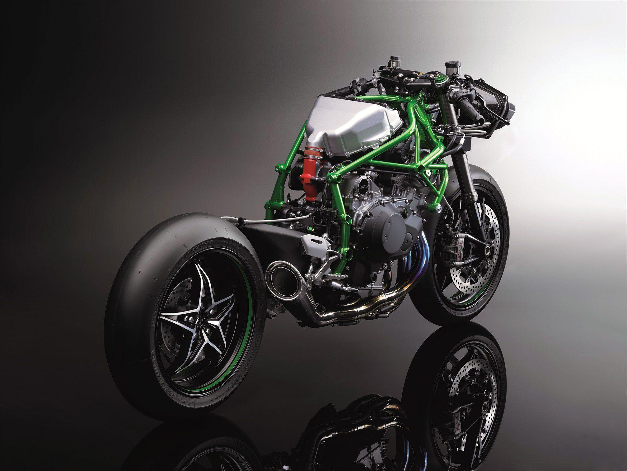 2015 Kawasaki Ninja H2R Supercharged wallpaper | 2015x1512 ...