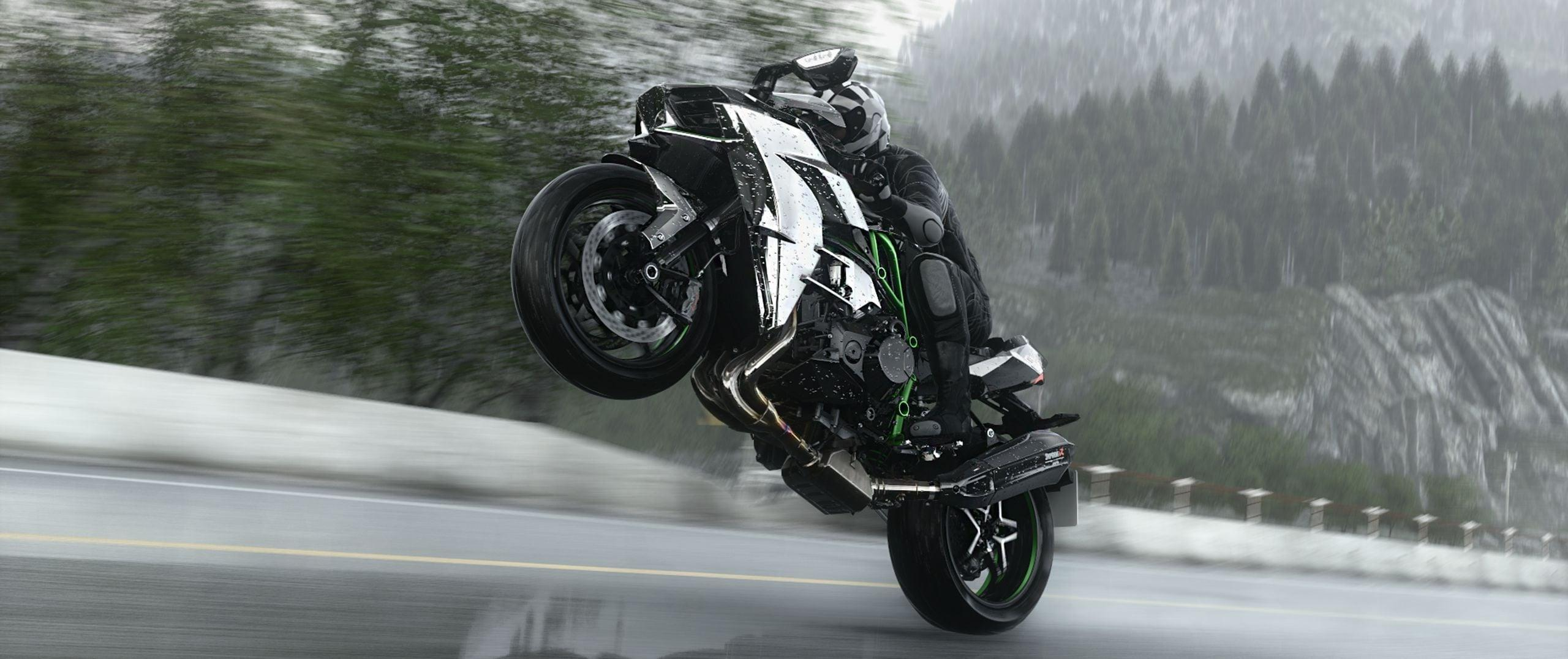 The Ninja H2r Wallpapers Wallpaper Cave