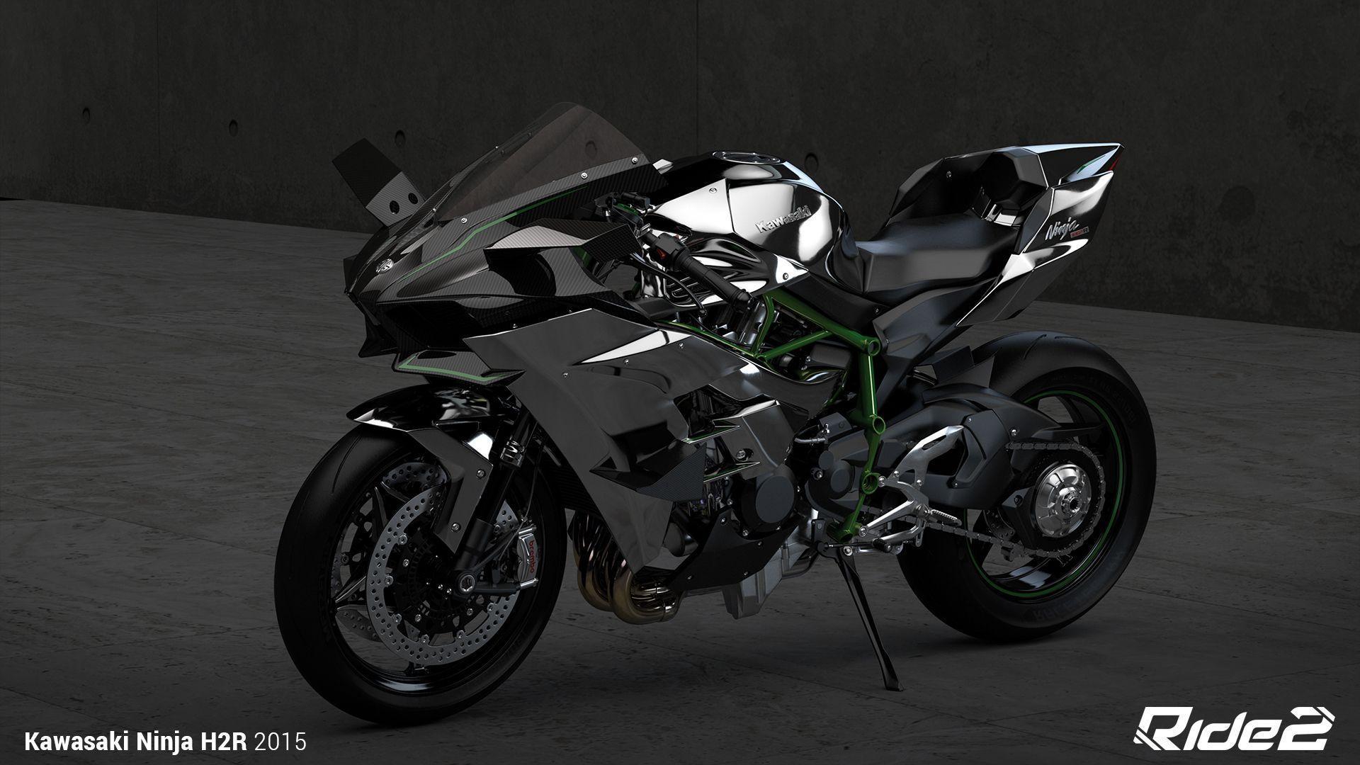 2015 Kawasaki Ninja H2R Computer Wallpapers, Desktop Backgrounds ...