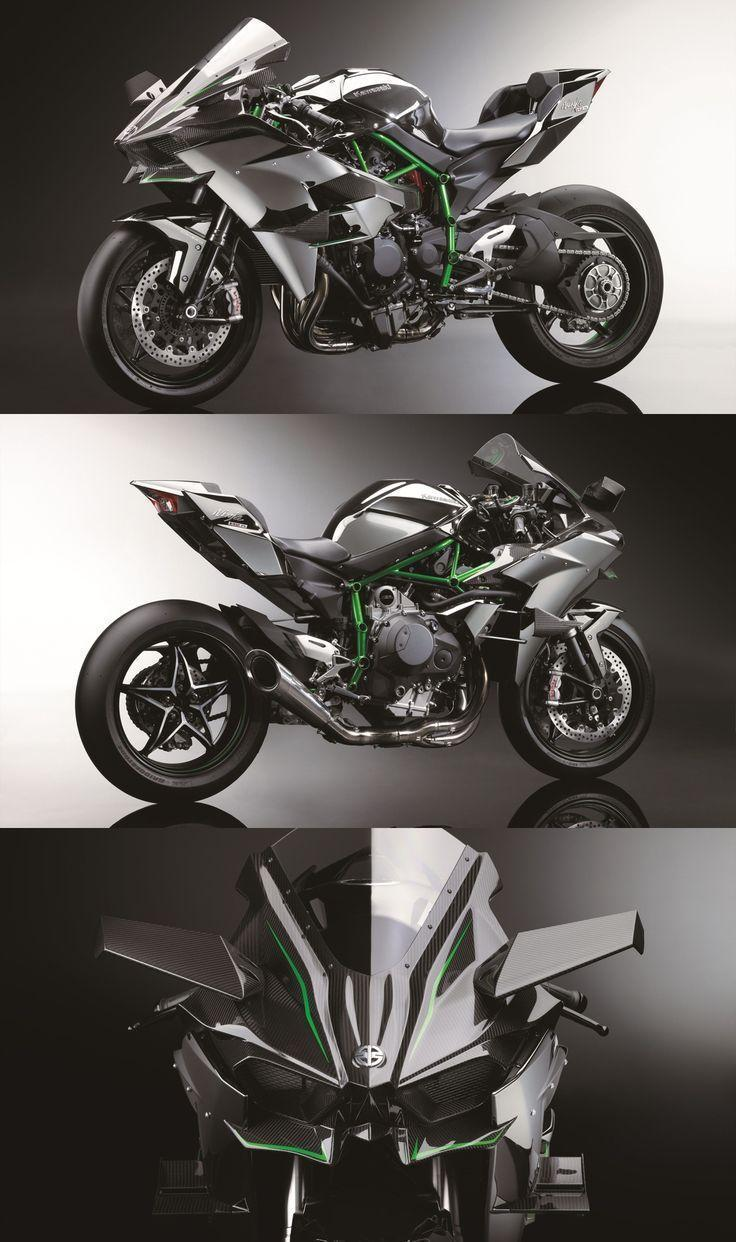 The Psychotic 300-HP Kawasaki Ninja H2R Is A Hellcat On Two Wheels ...