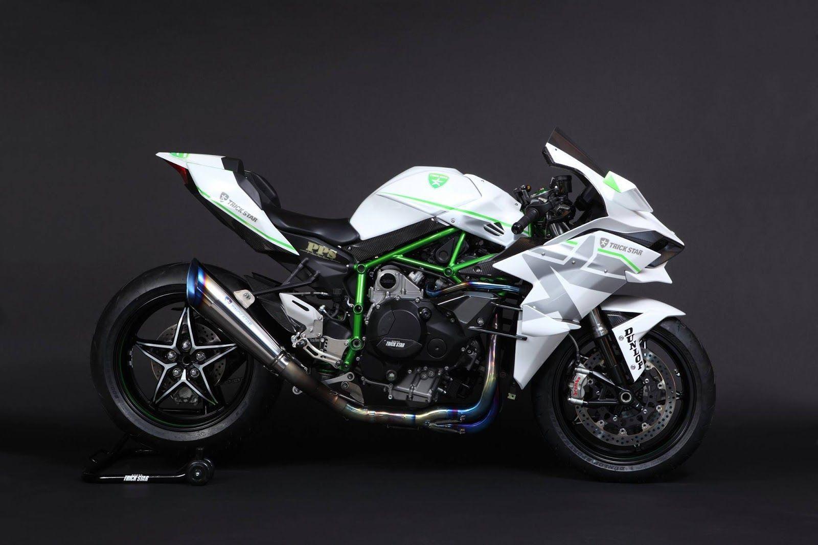 Planet Japan Blog: Kawasaki Ninja H2R by Trickstar