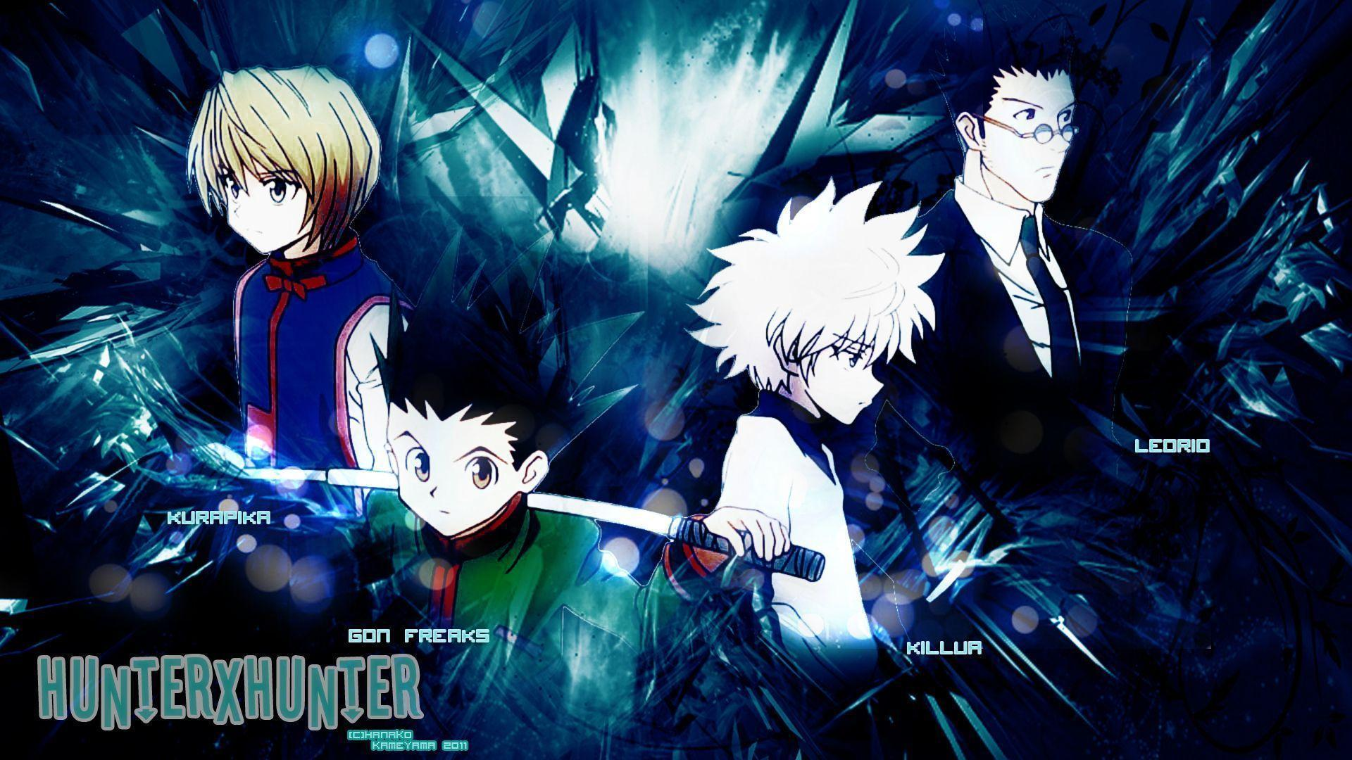 Collection of Hunter X Hunter Wallpapers on HDWallpapers