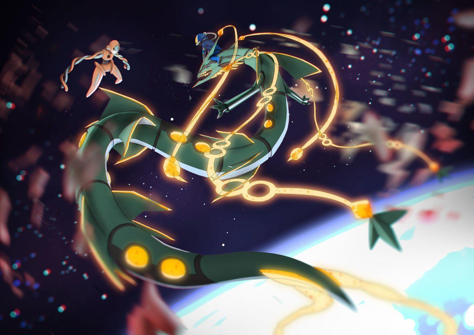 20 Deoxys (Pokemon) HD Wallpapers | Background Images - Wallpaper Abyss