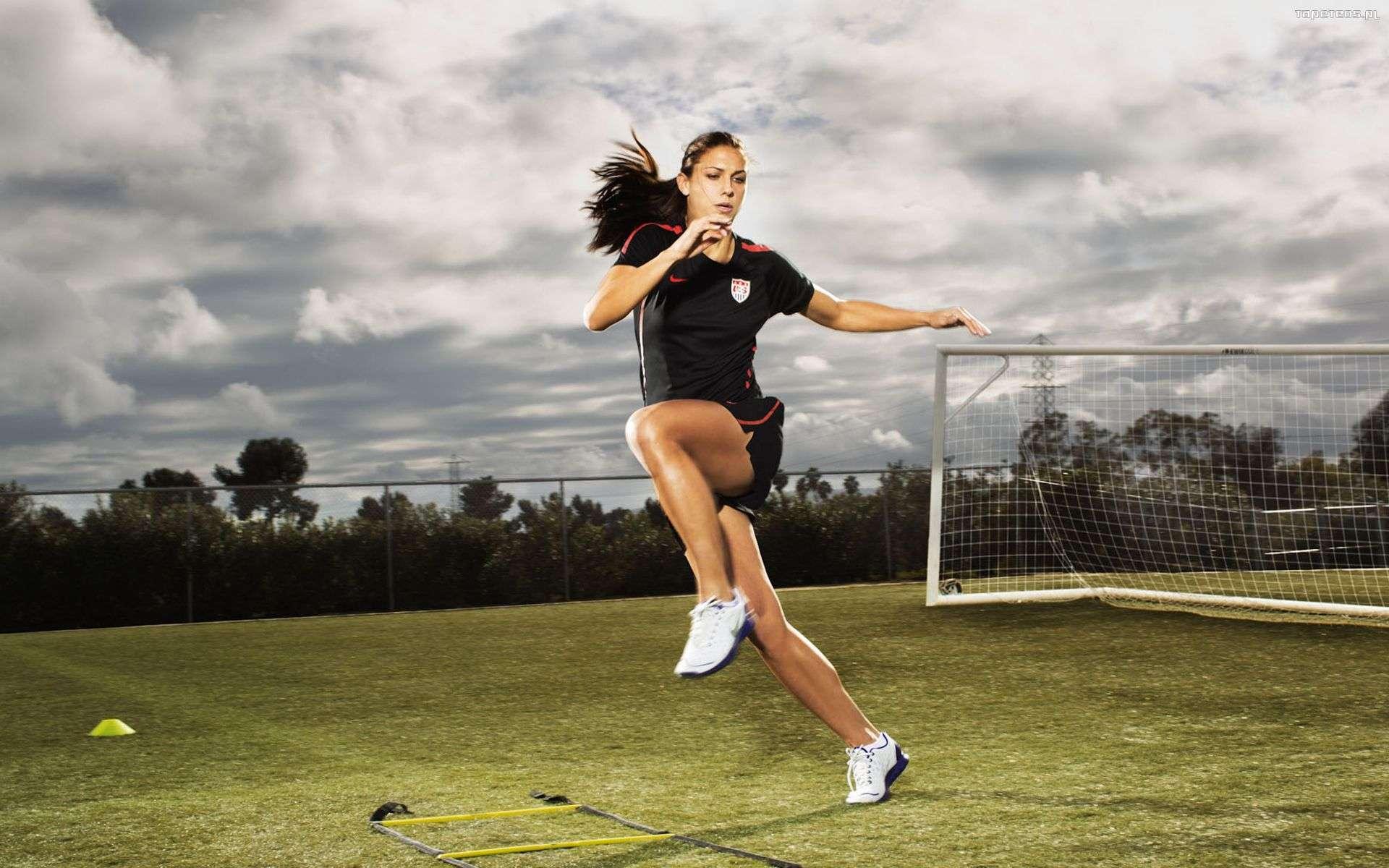 Soccer Girls Wallpaper Free: Alex Morgan Wallpapers