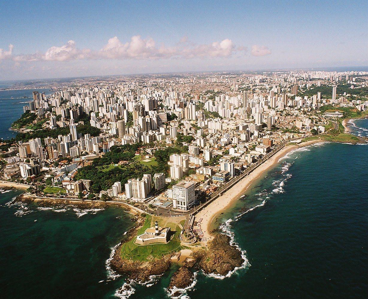 Salvador - City in Bahia - Sightseeing and Landmarks - Thousand ...