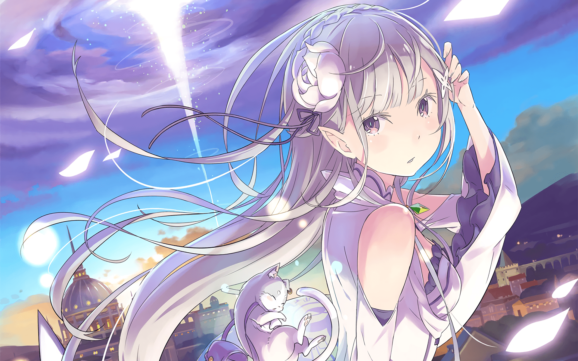 Rezero Starting Life In Another World Hd Wallpapers
