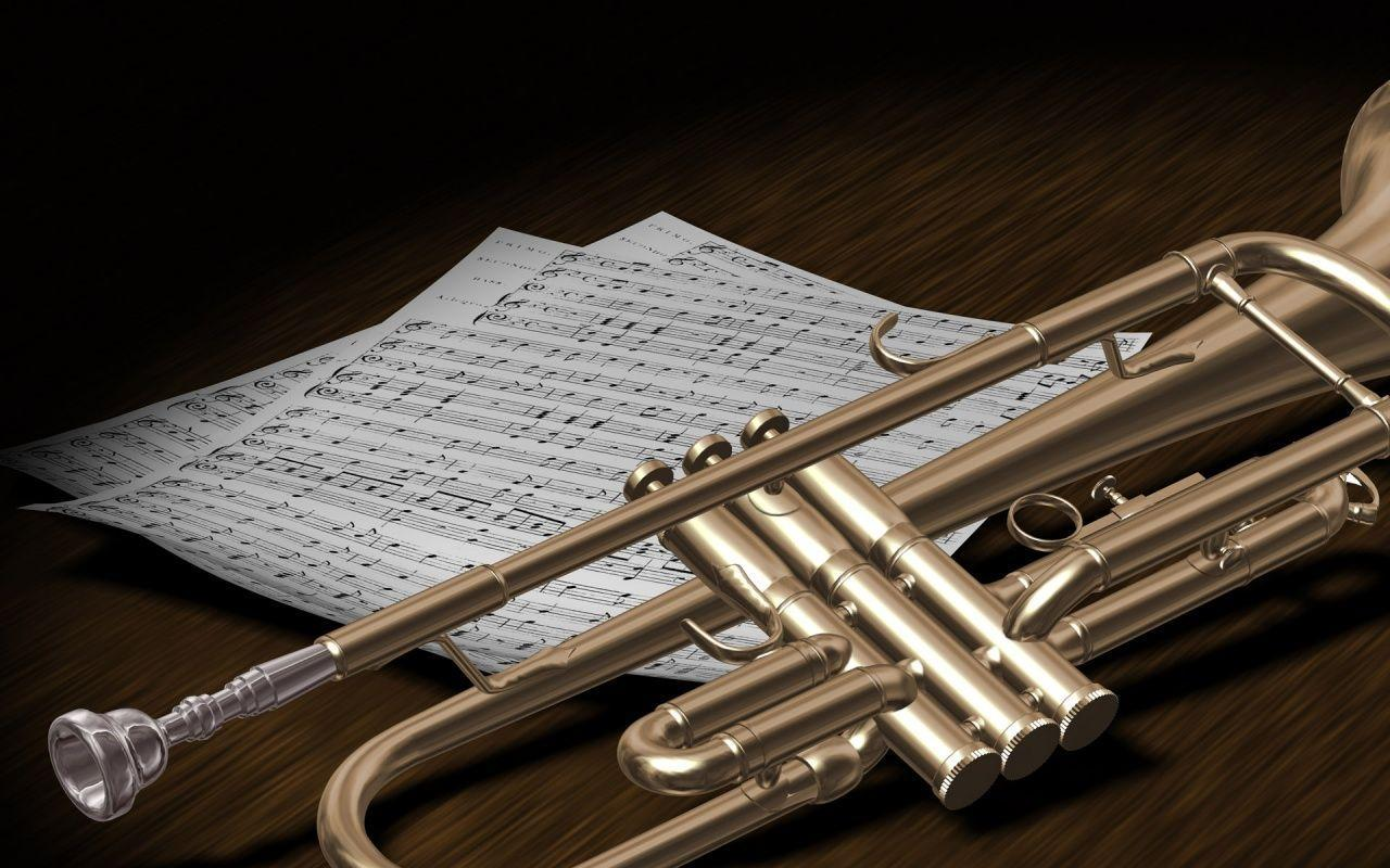 Trumpet Wallpaper Backgrounds HD