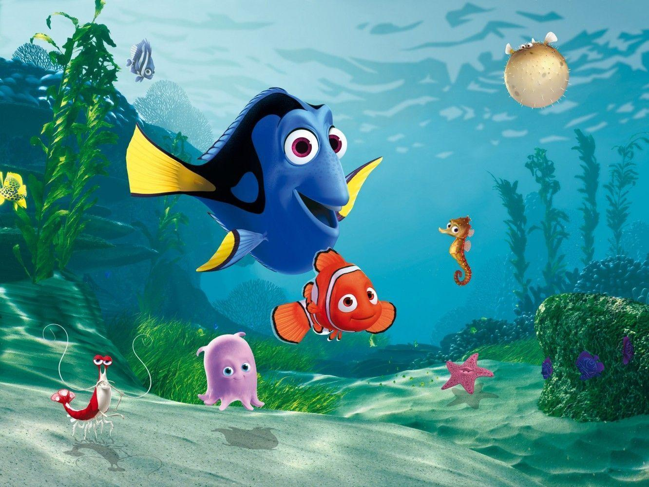 Cute 3D Finding Dory Wallpapers Wallpapers