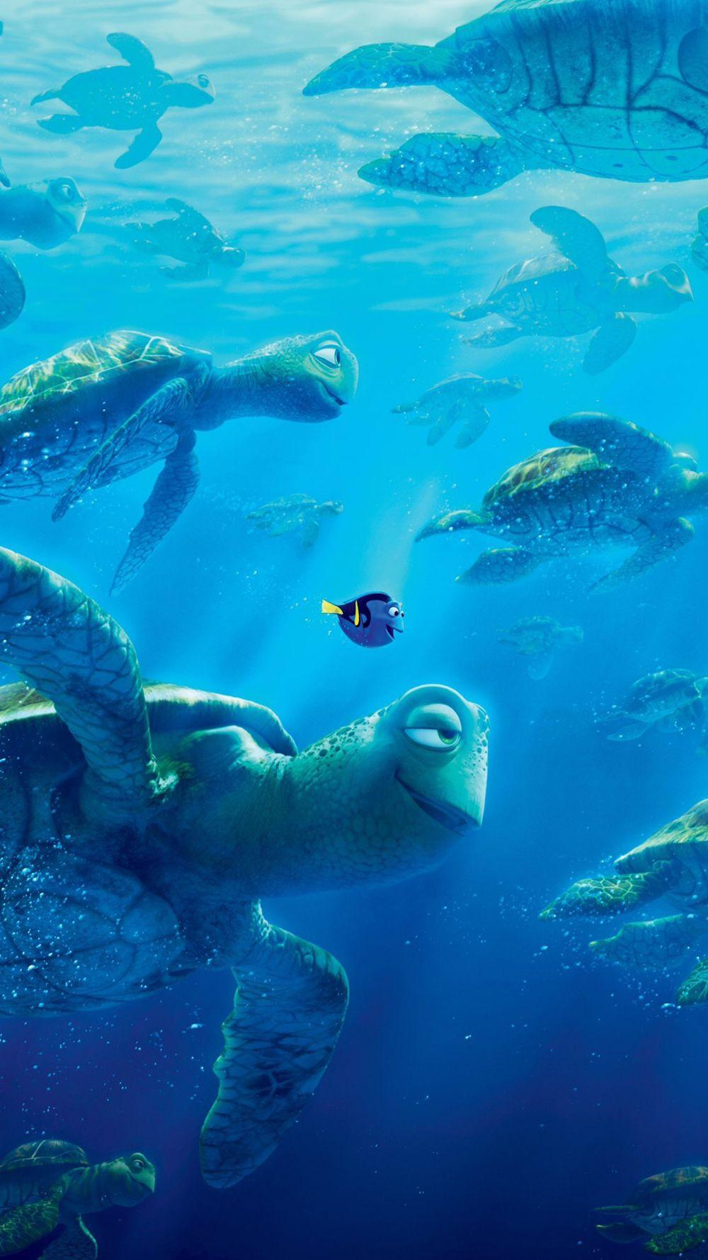 Finding Dory: Downloadable Wallpapers for iOS & Android Phones