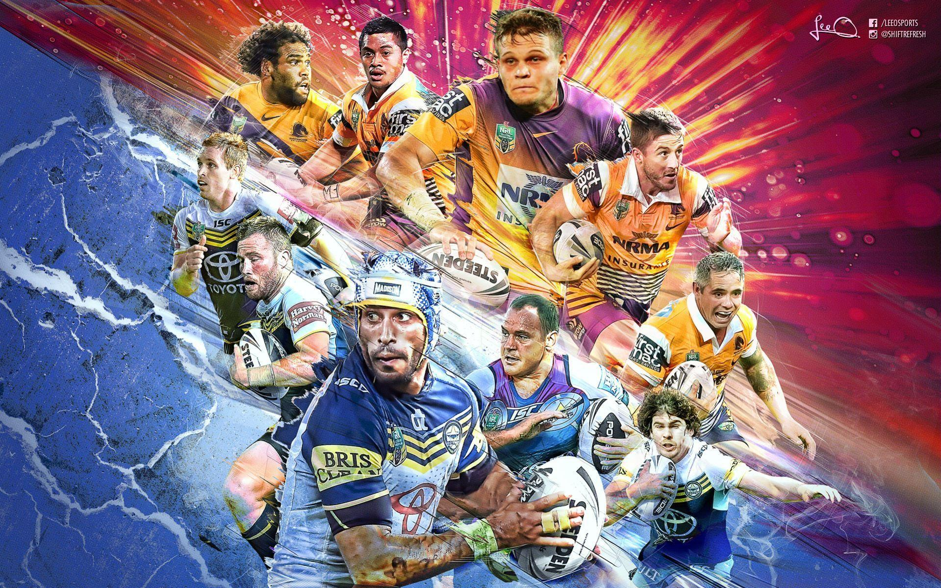 My NRL Grand Final wallpaper design should fire you up :) : nrl